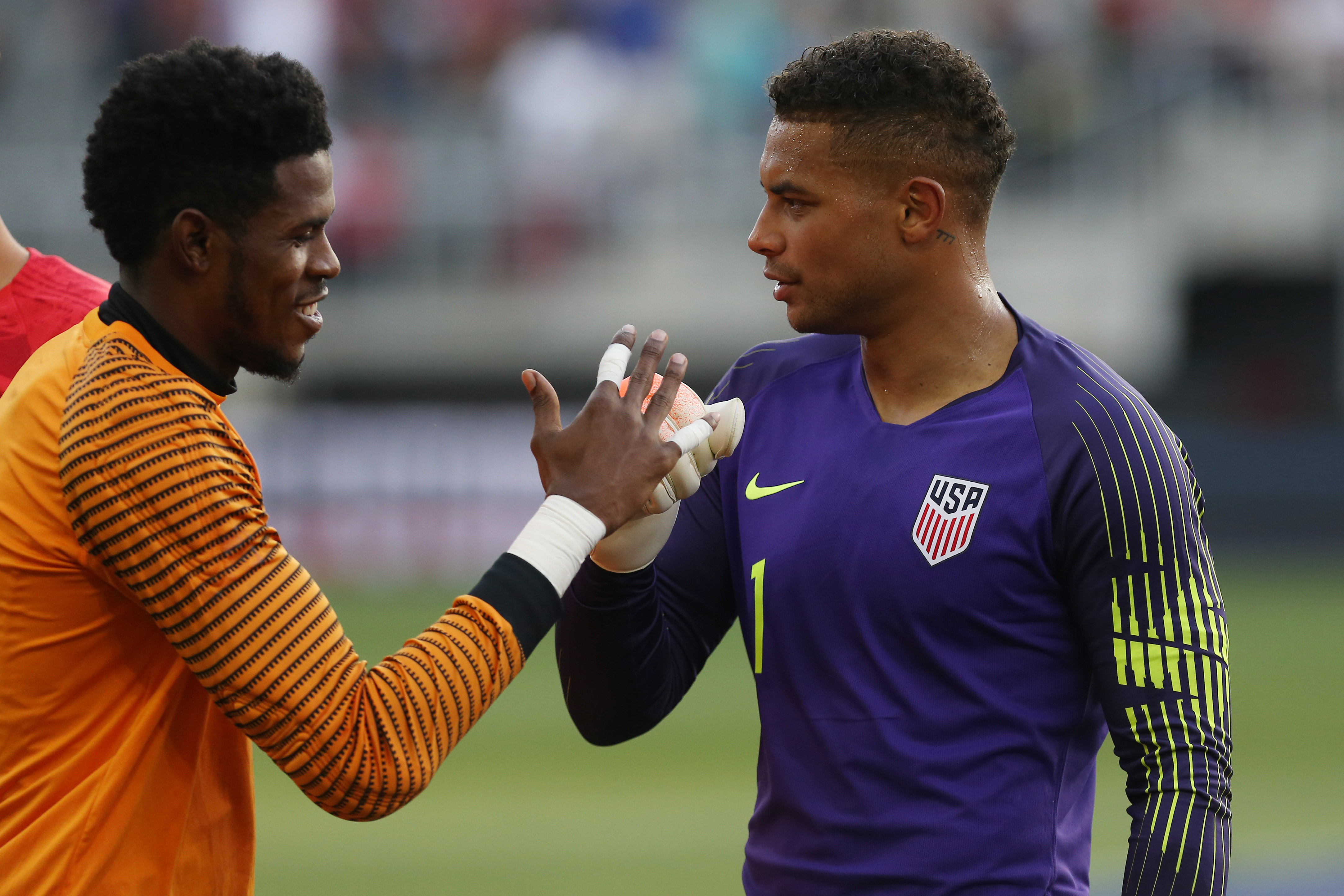 Soccer: International Friendly Soccer-Jamaica at USA