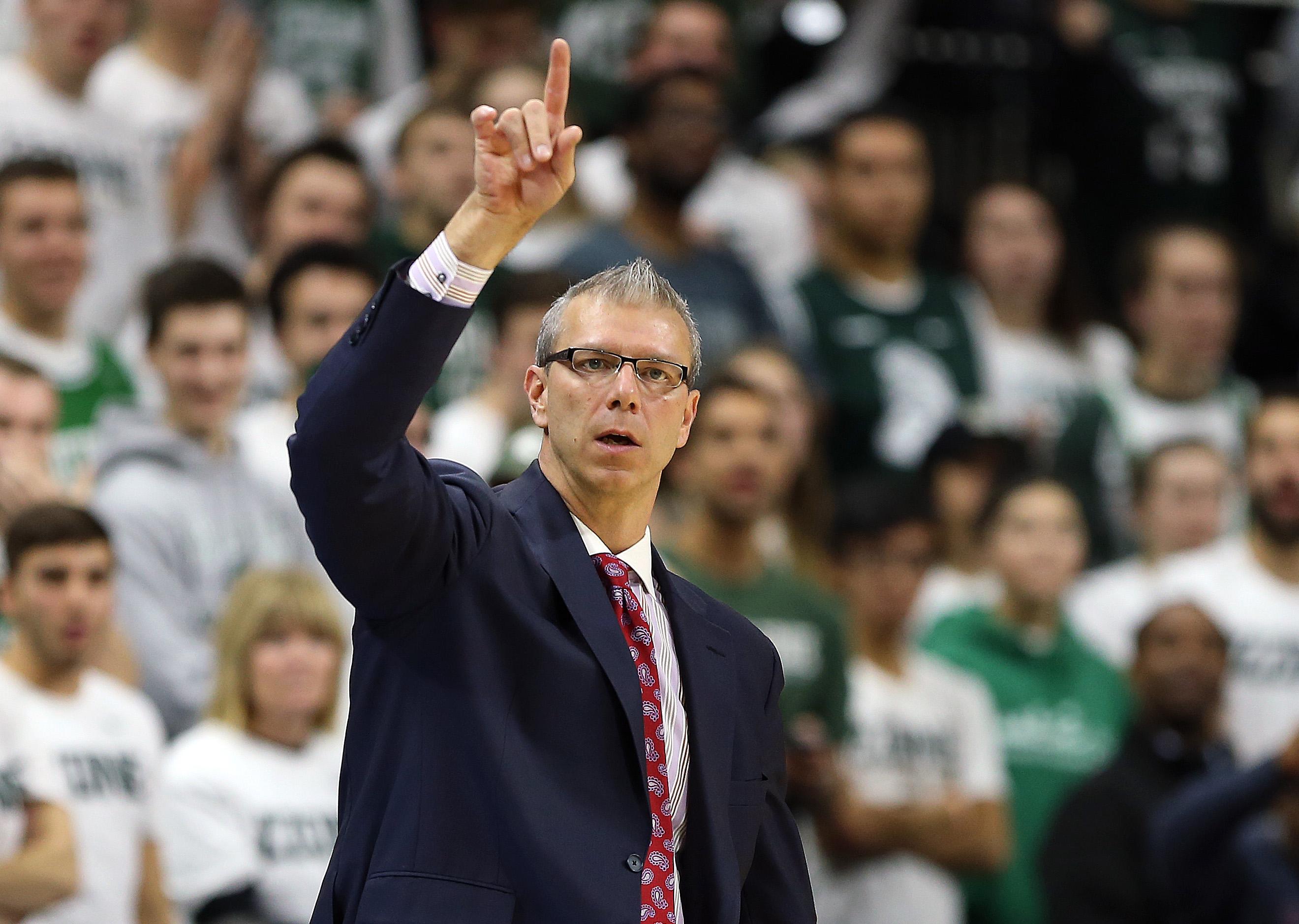 NCAA Basketball: Stony Brook at Michigan State