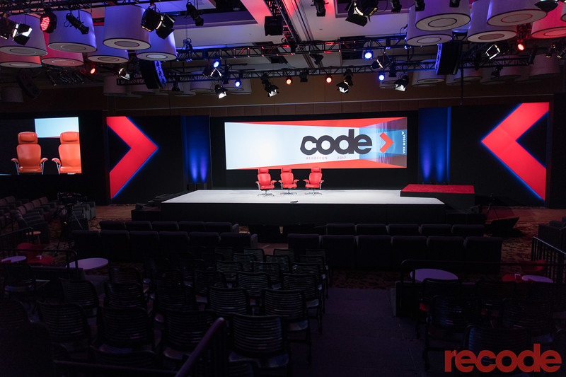 Code Conference stage.
