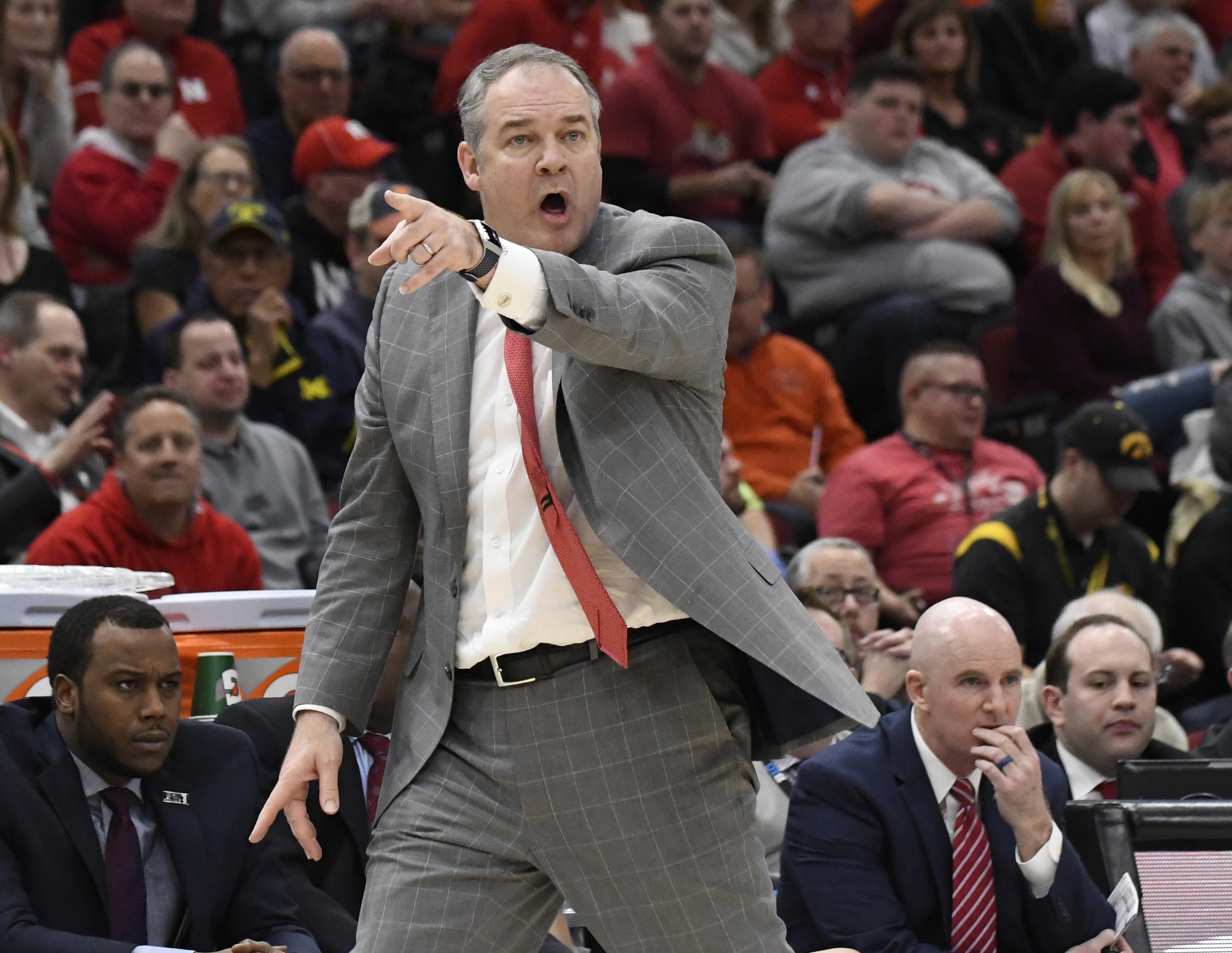 NCAA Basketball: Big Ten Conference Tournament-Nebraska vs Rutgers
