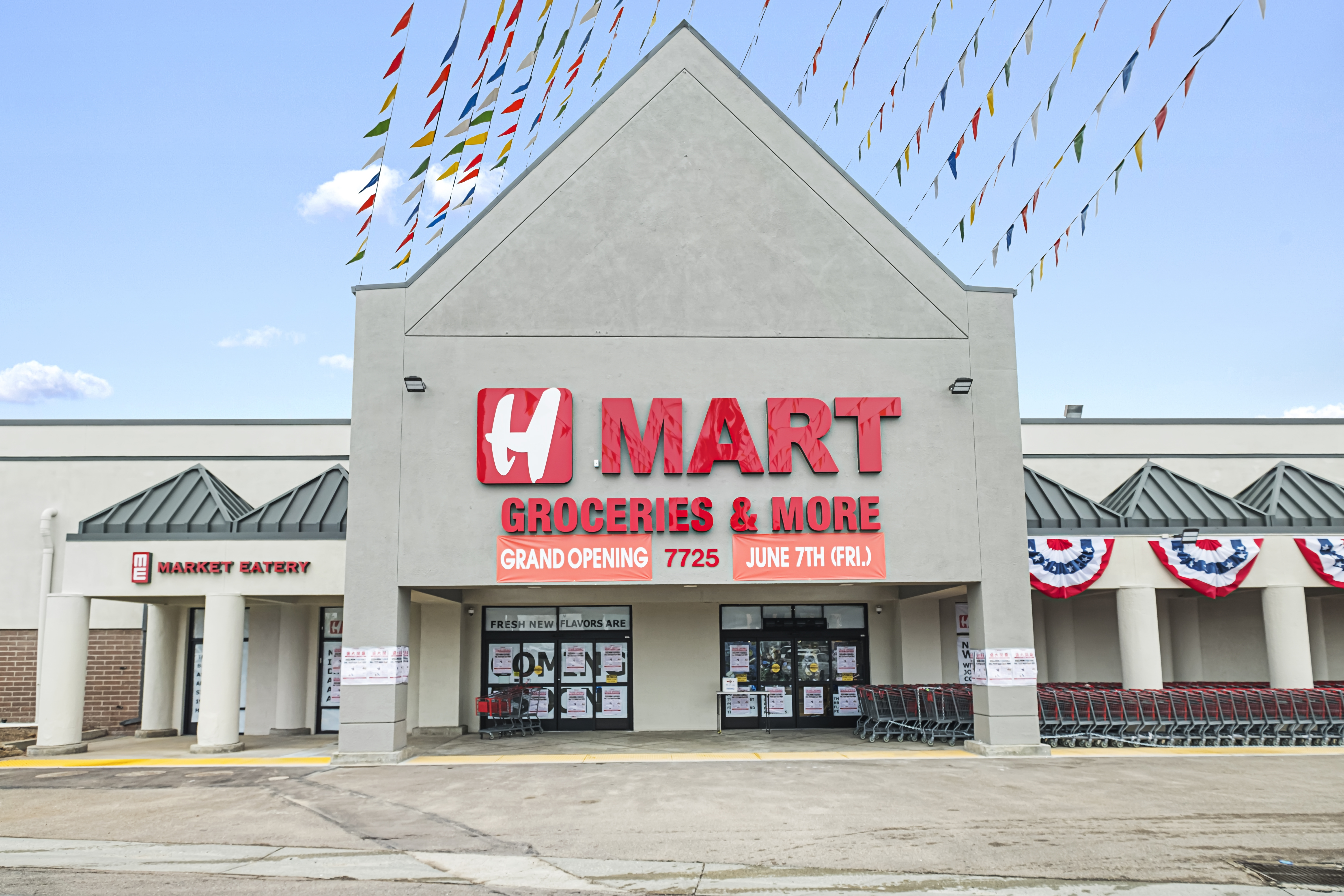 H Mart Grand Opens Today With Korean Food Hall