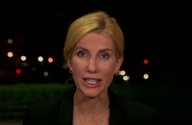 Watch Laura Ingraham tell her audience to disbelieve something Trump just told her
