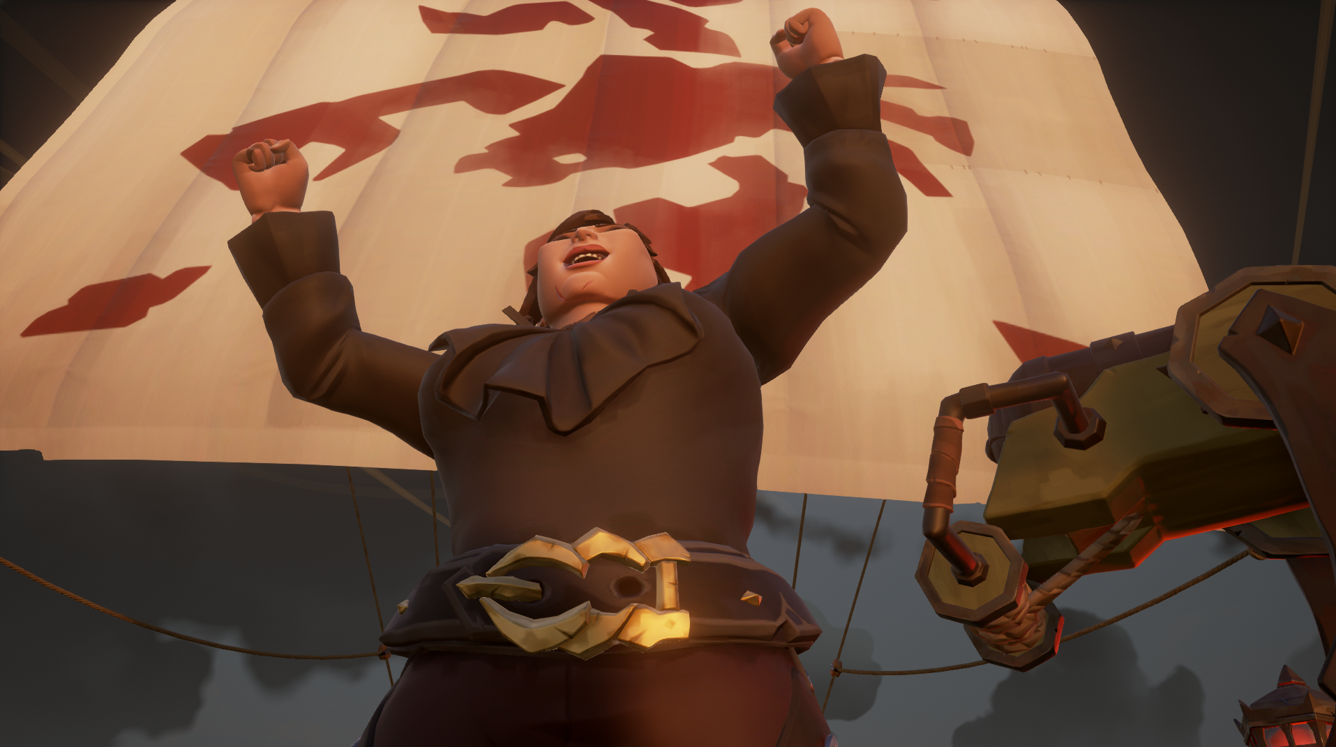 I've found the key to making everyone mad in Sea of Thieves