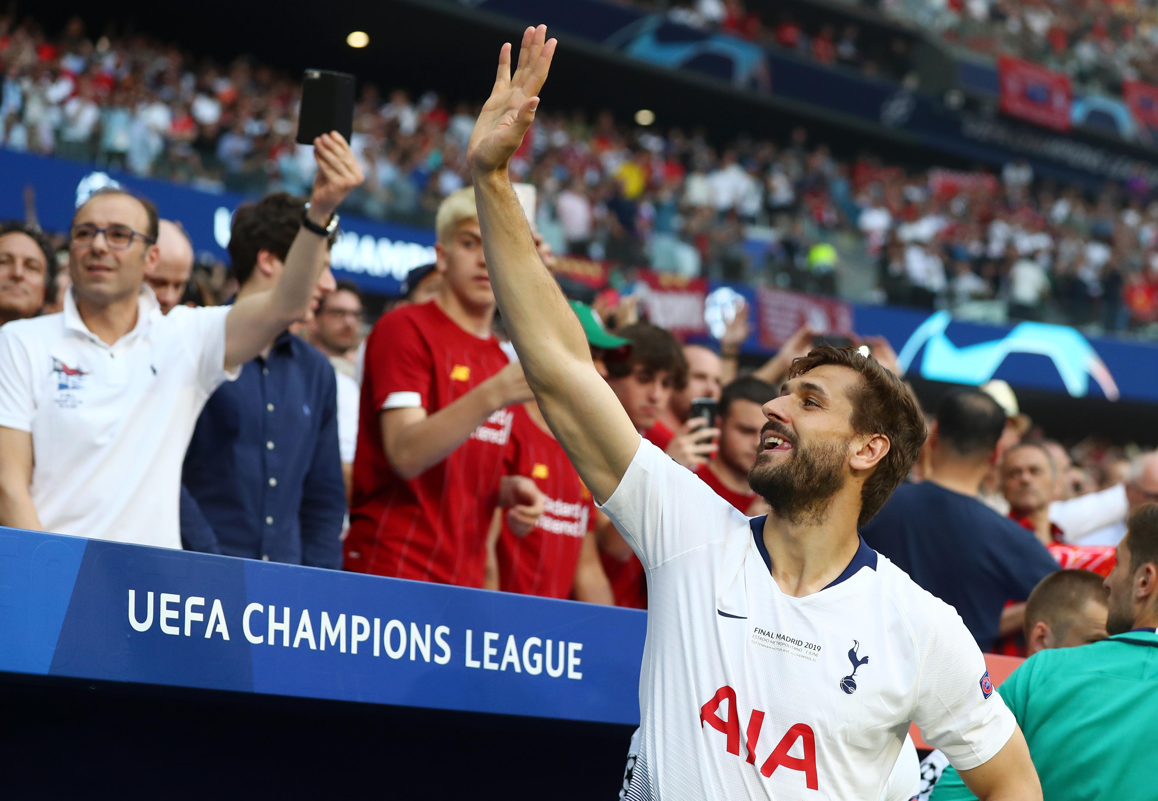 Did Tottenham just release Fernando Llorente?