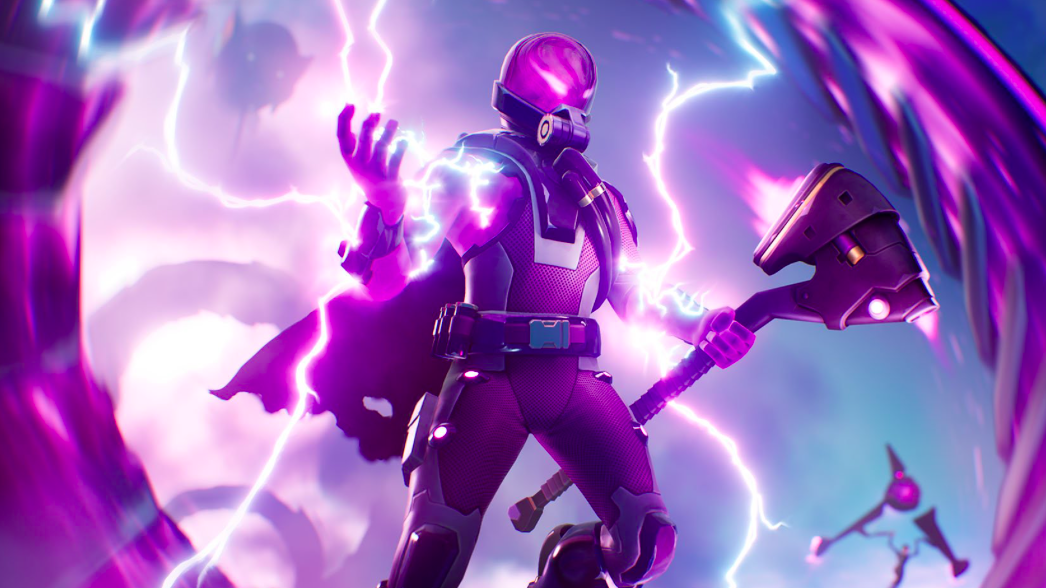 Fortnite's new storm flip item is a giant mess