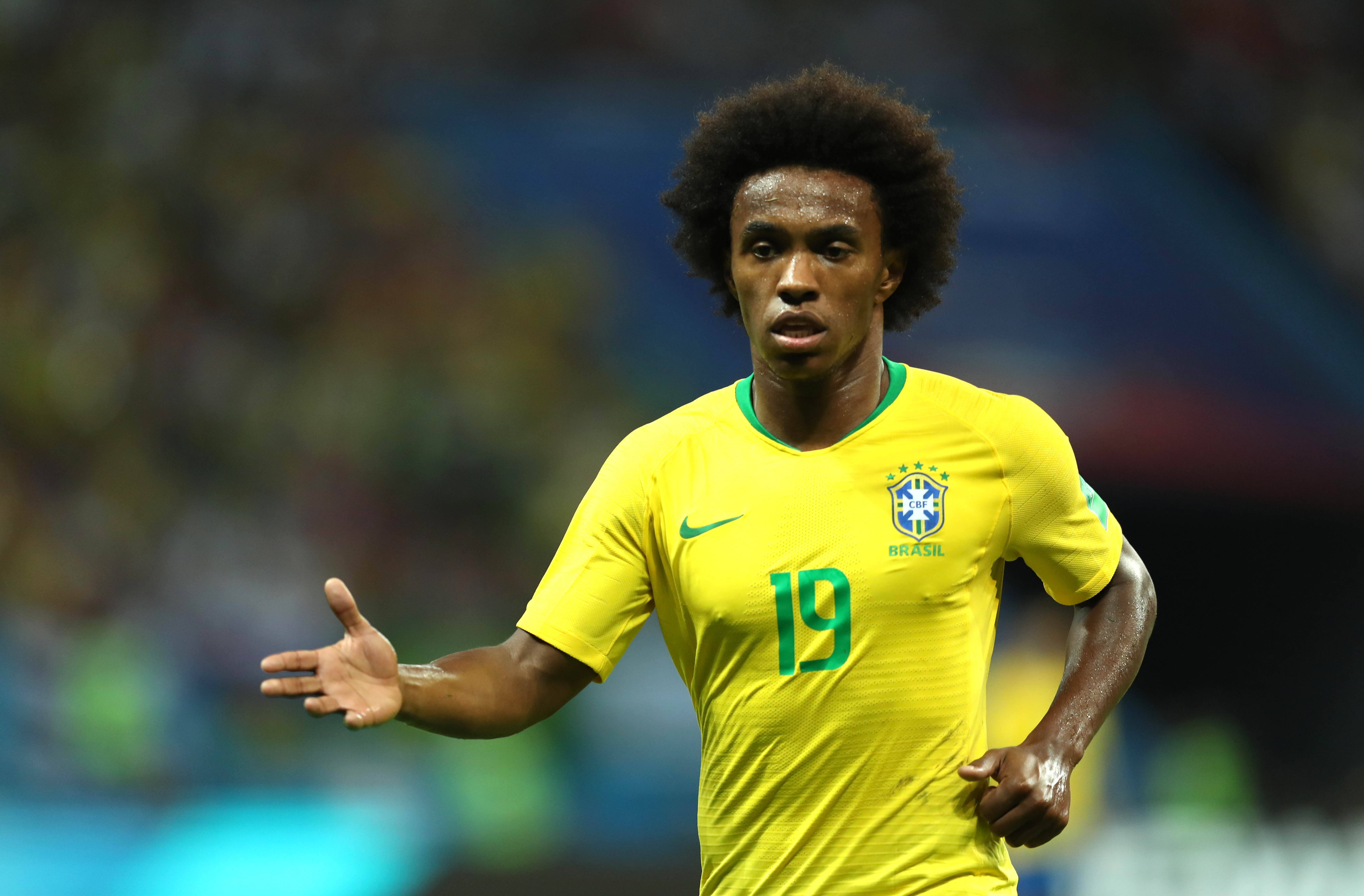Willian called up by Brazil as Neymar replacement for Copa América