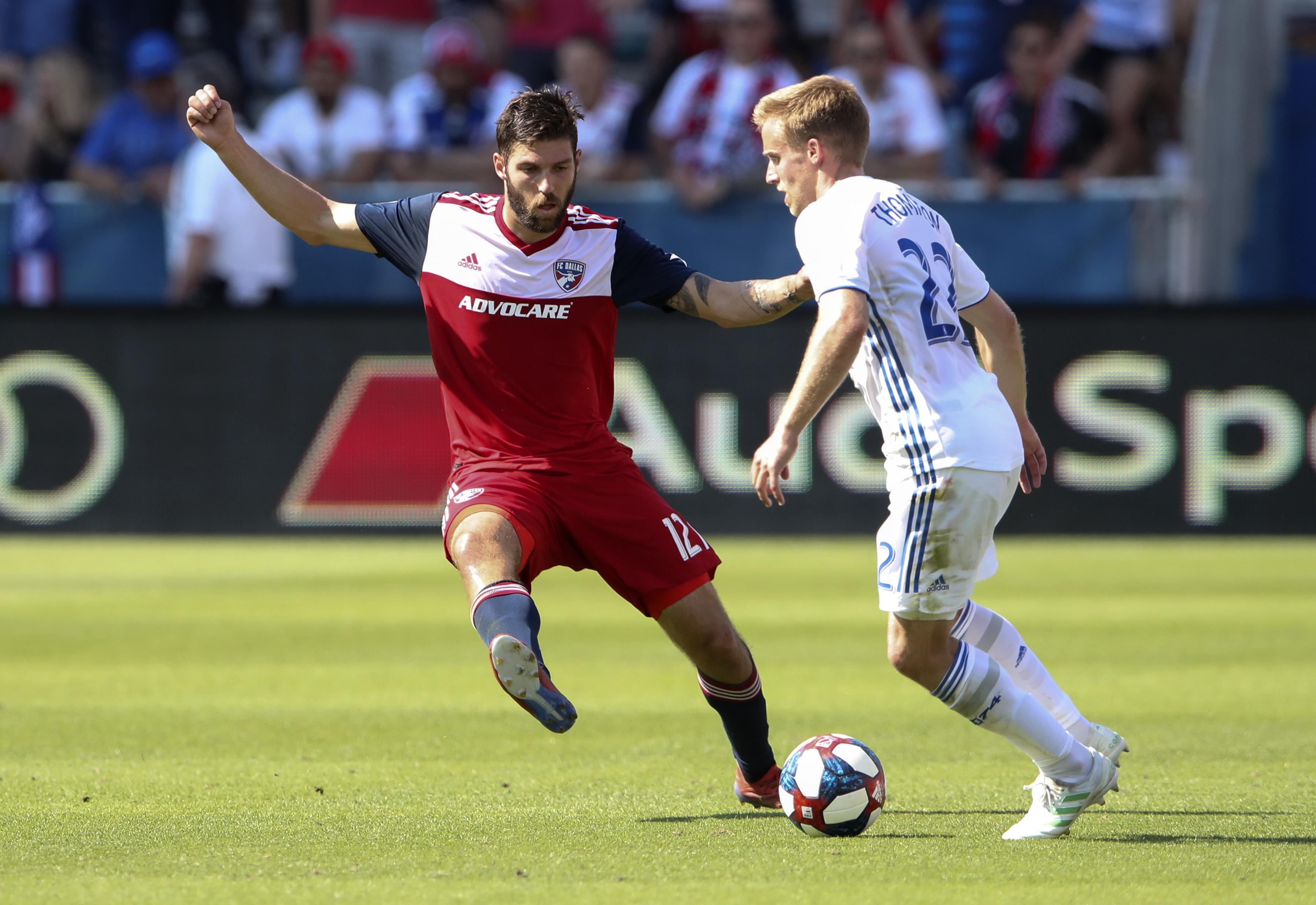 MLS: San Jose Earthquakes at FC Dallas