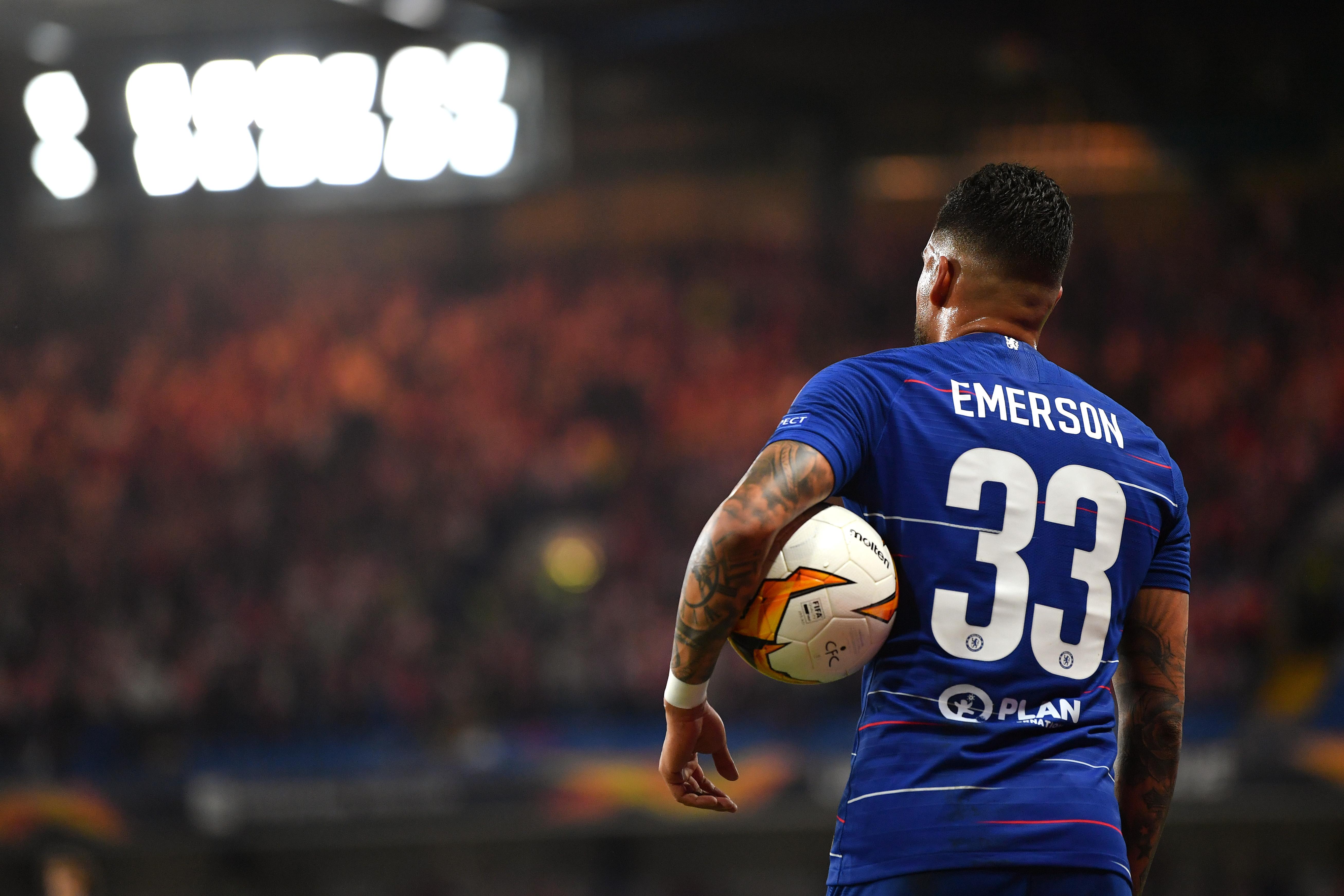 Juventus want Emerson to follow Sarri — report