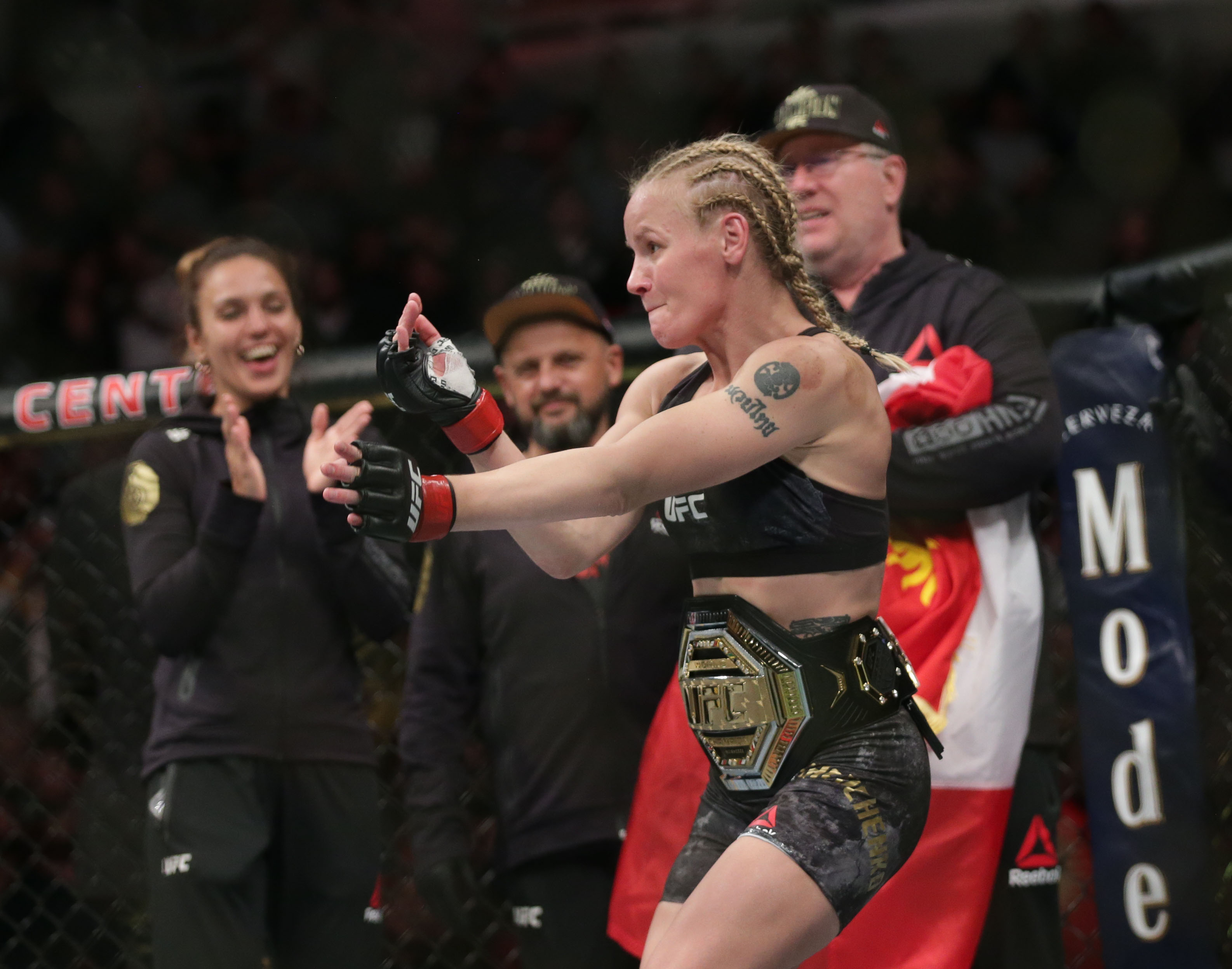 MMA: UFC 238-Shevchenko vs Eye
