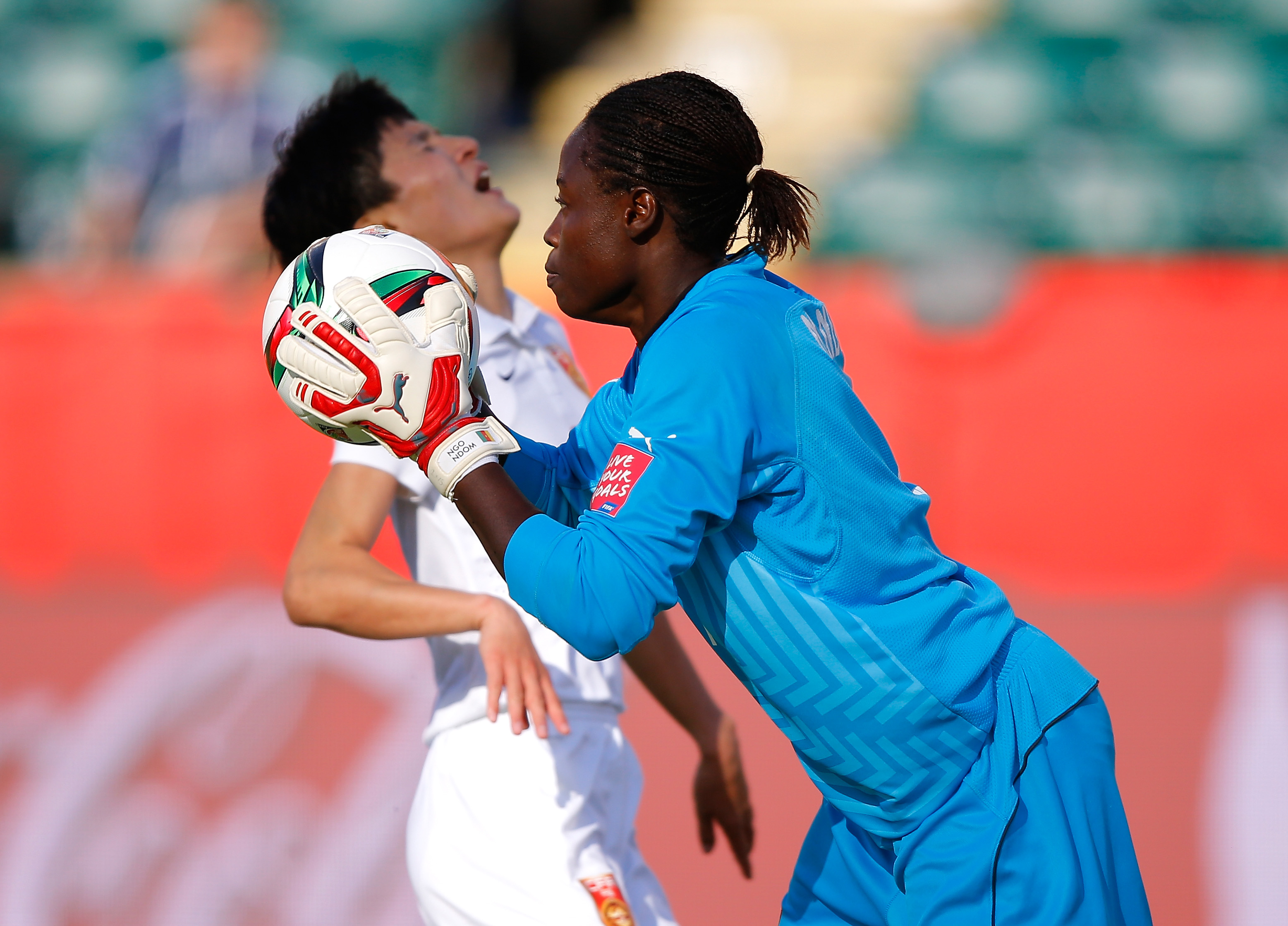 China PR v Cameroon: Round of 16 - FIFA Women's World Cup 2015