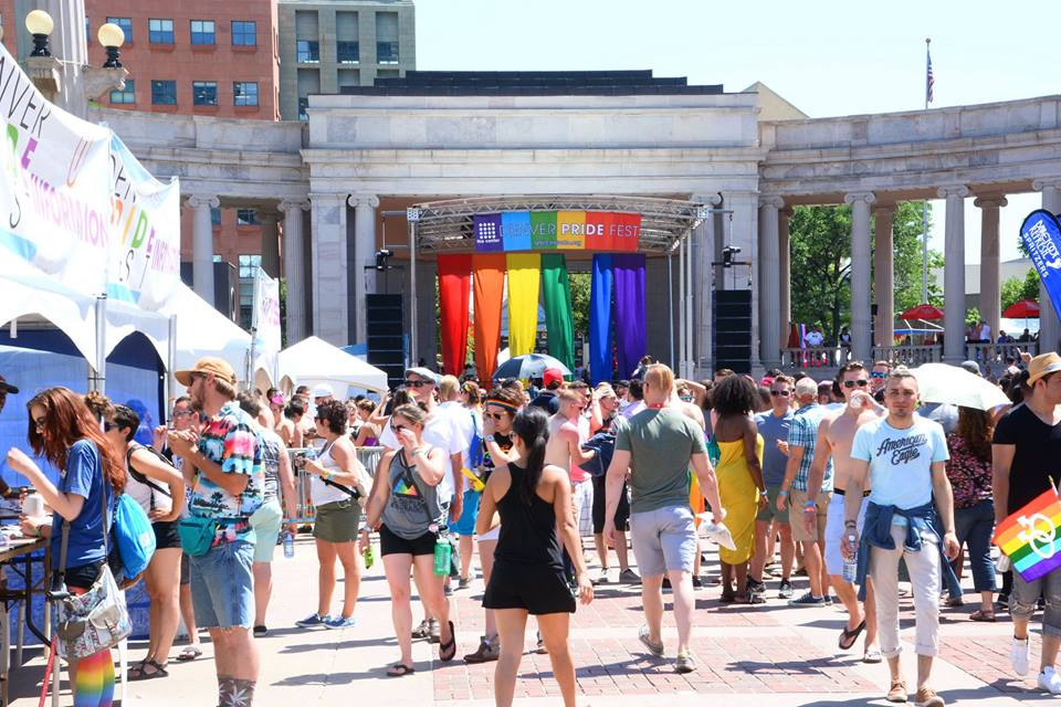 Denver PrideFest at Civic Center Park