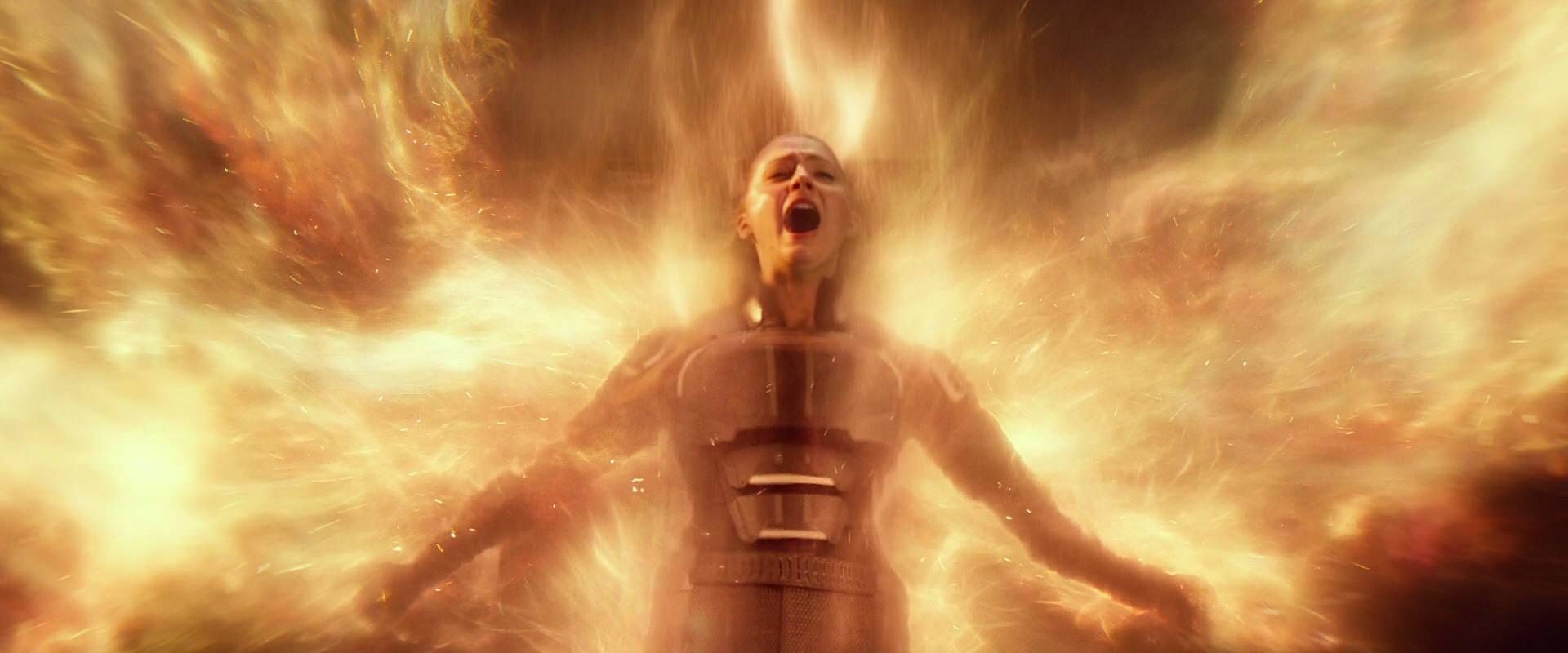 Sophie Turner as Jean Grey in X-Men: Apocalypse.