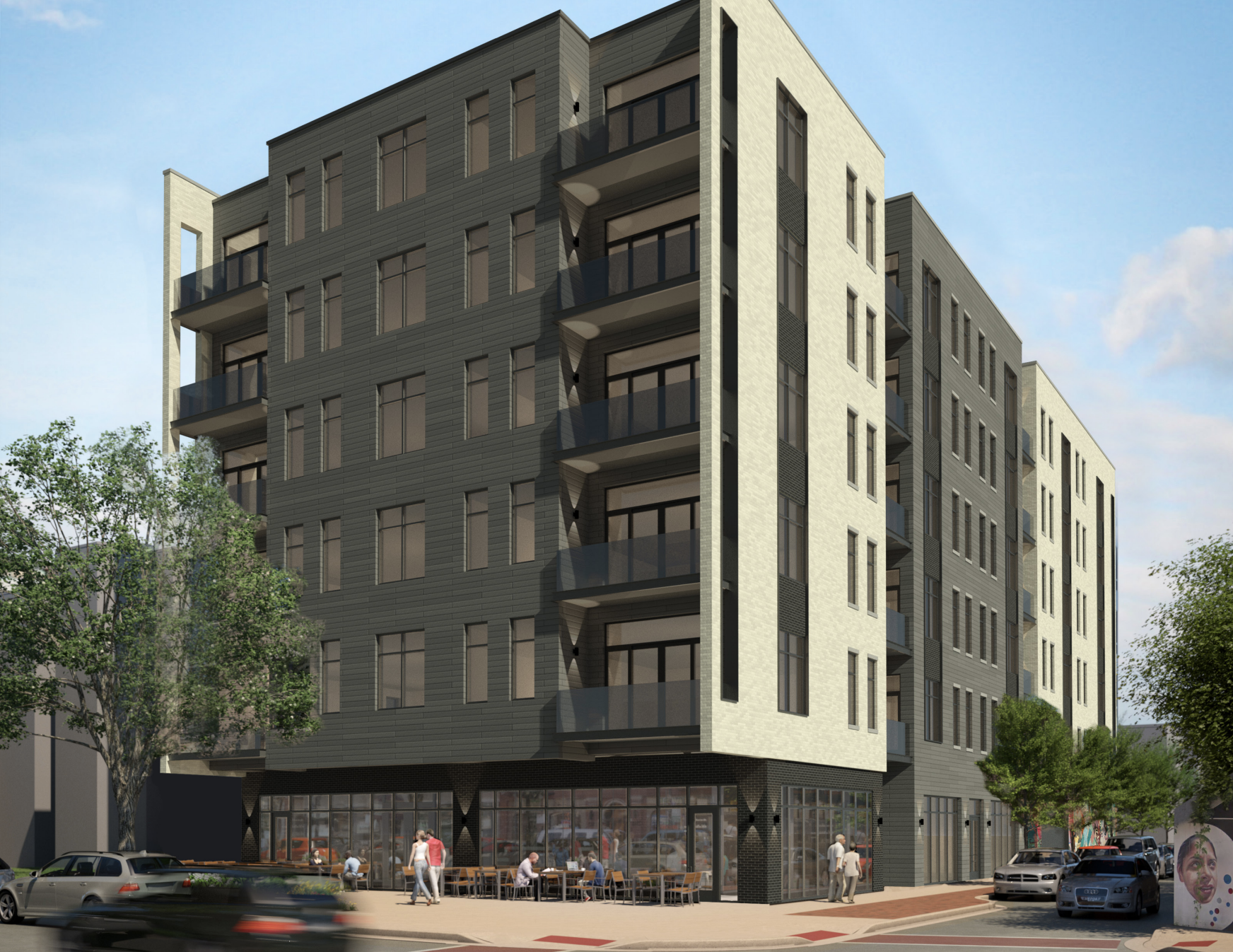 Rogers Park residents get first look at apartments replacing Heartland Cafe