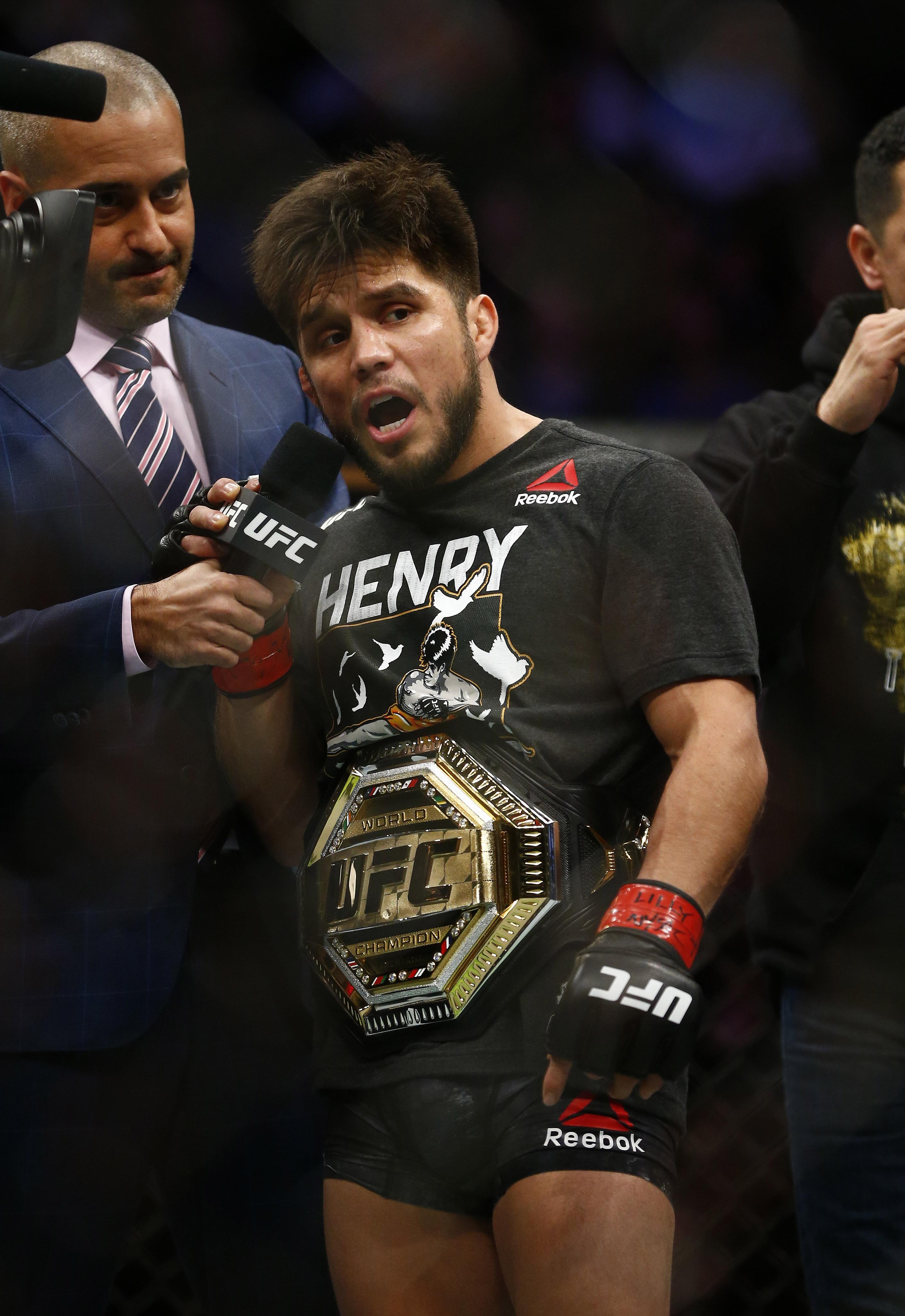 MMA: UFC Fight Night-Brooklyn-Cejudo vs Dillashaw