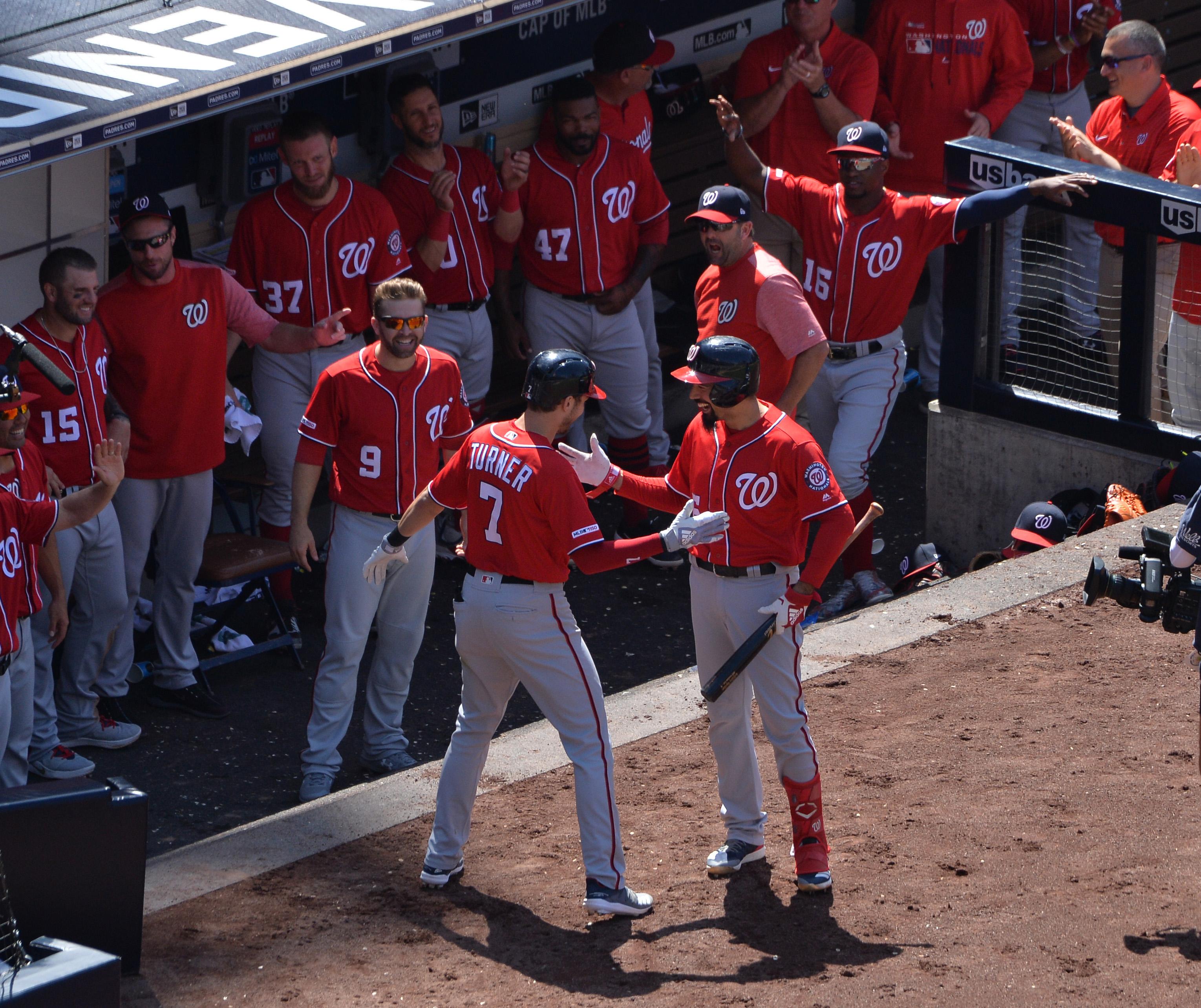 MLB: Washington Nationals at San Diego Padres