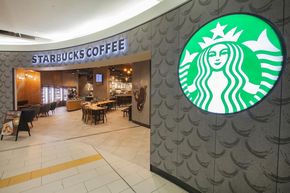 Starbucks Coffee Gatwick Airport trials reusable cup scheme