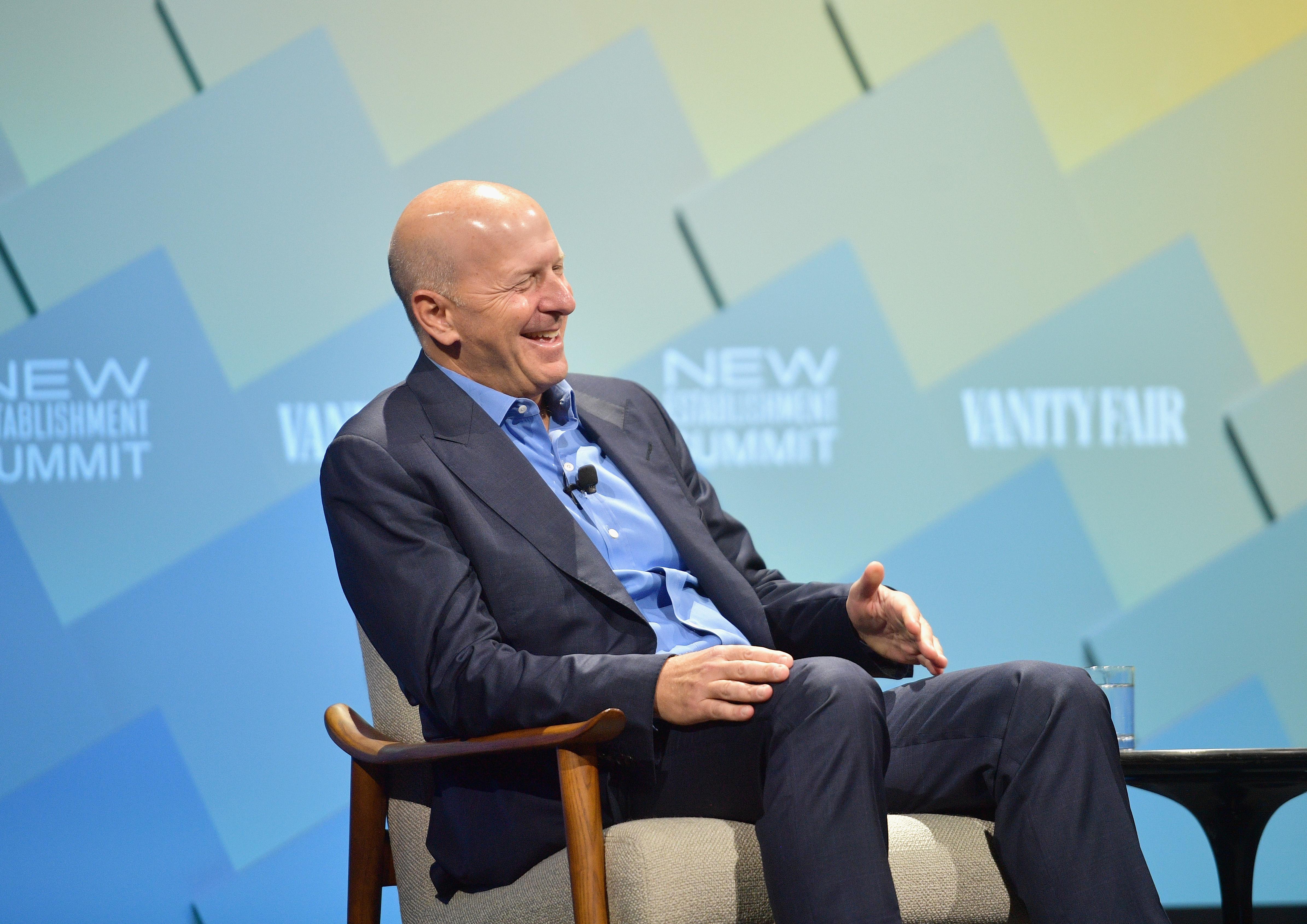 Goldman Sachs CEO David Solomon.