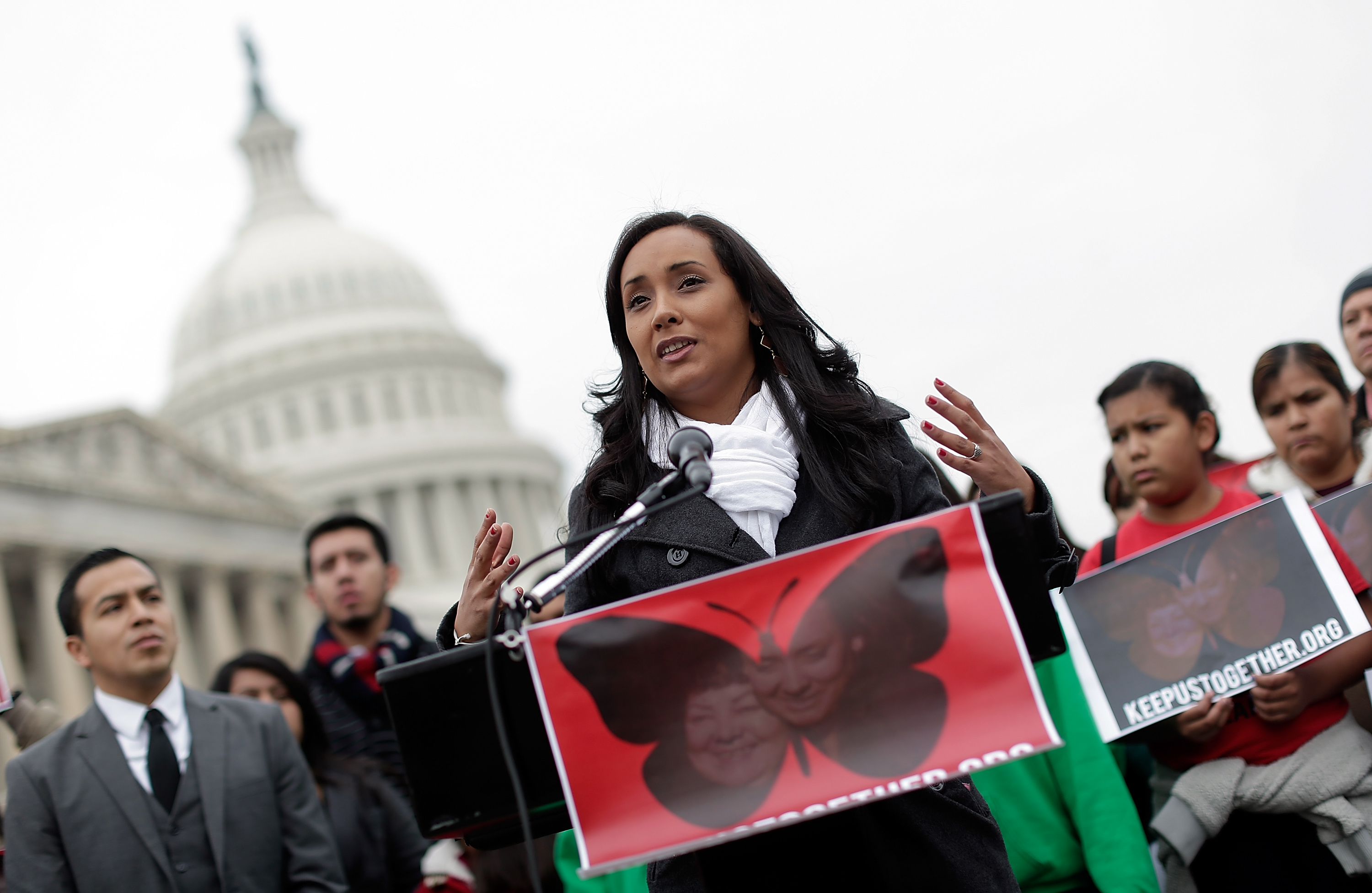 Dream Act Activists Hold News Conference Urging Congress To Take Up Immigration Reform