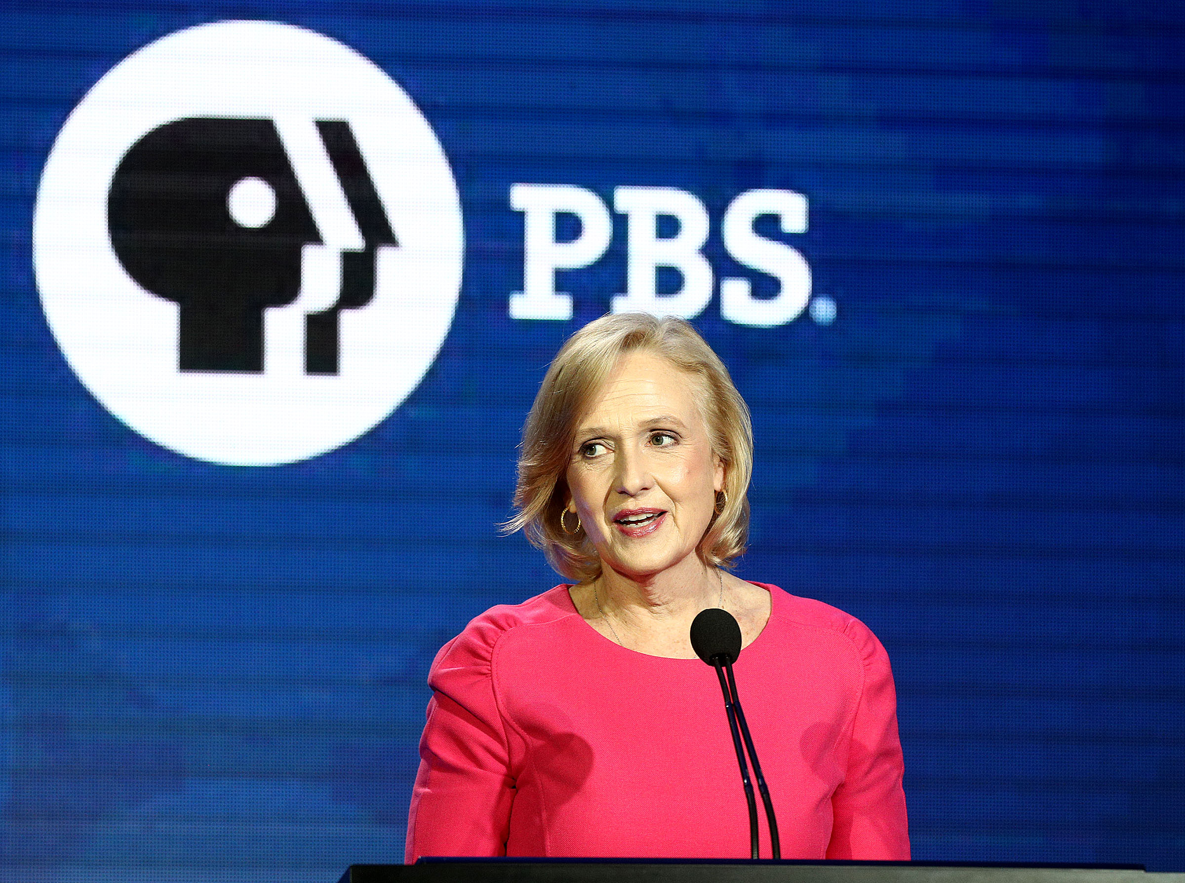 Between corporate media giants and Trump, PBS has big challenges