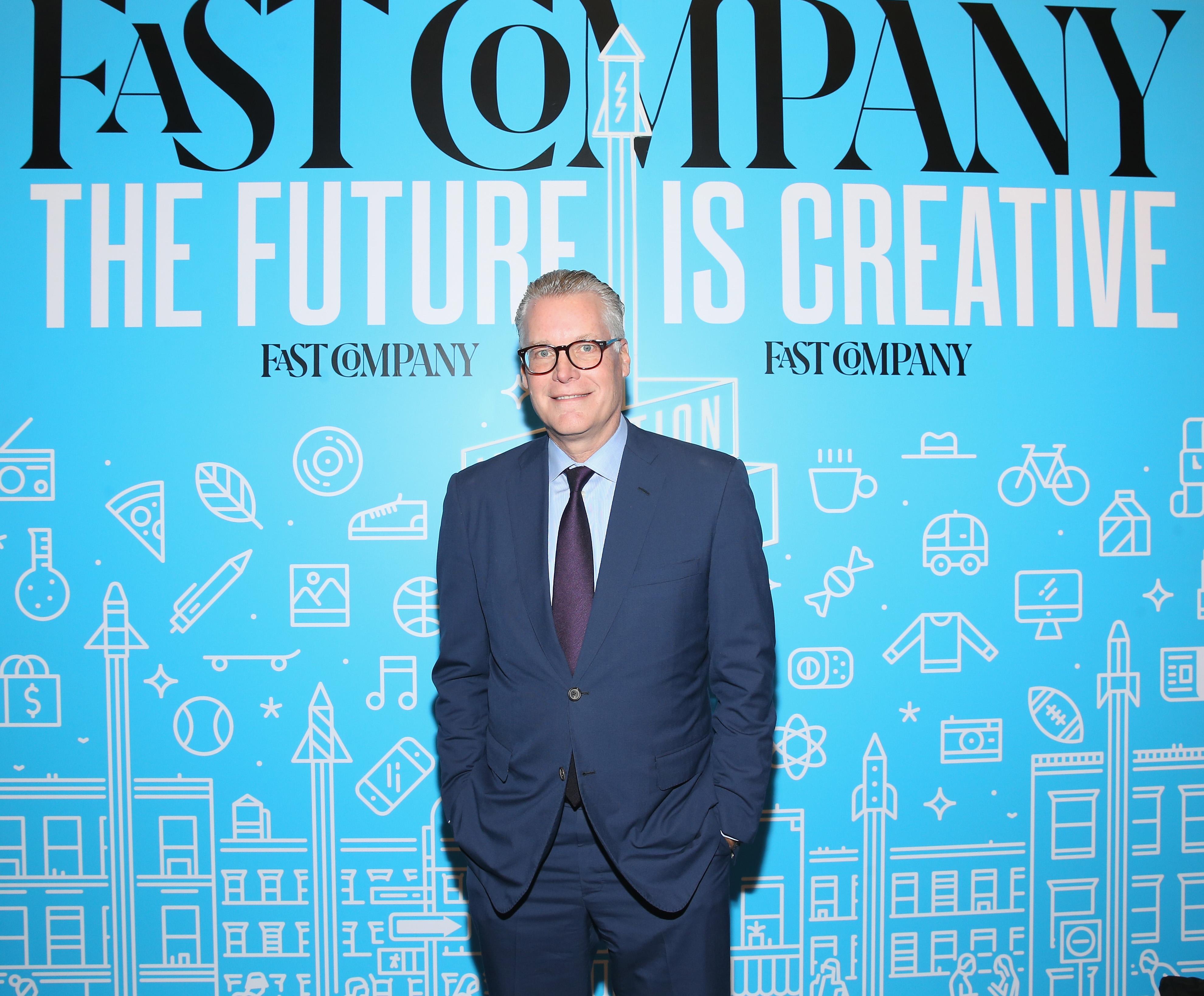 Delta CEO Ed Bastian poses at the 2018 Fast Company Innovation Festival.
