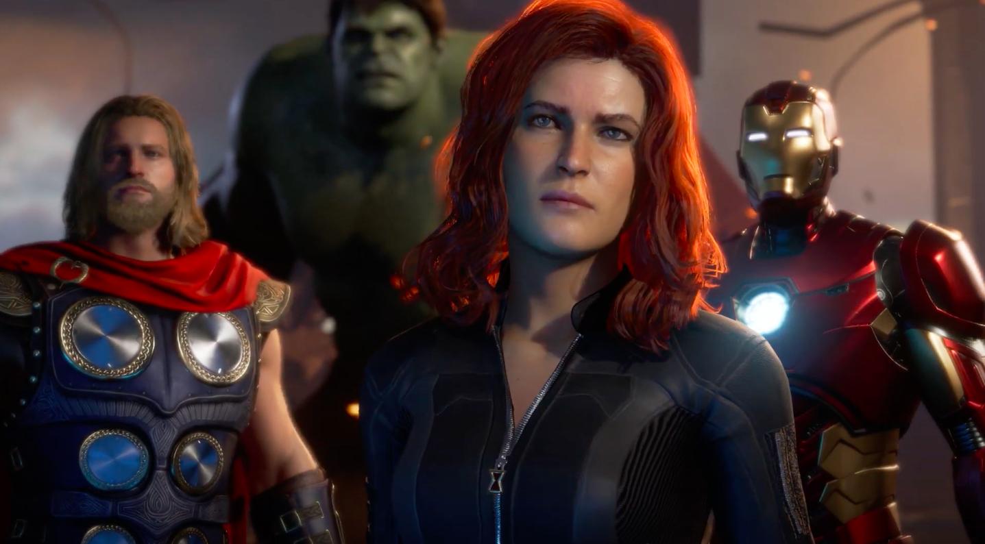 Marvel's Avengers character designs look generic