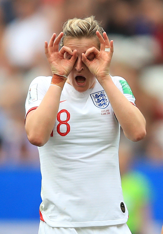Ellen White's goal celebration - England - 2019 FIFA Women's World Cup