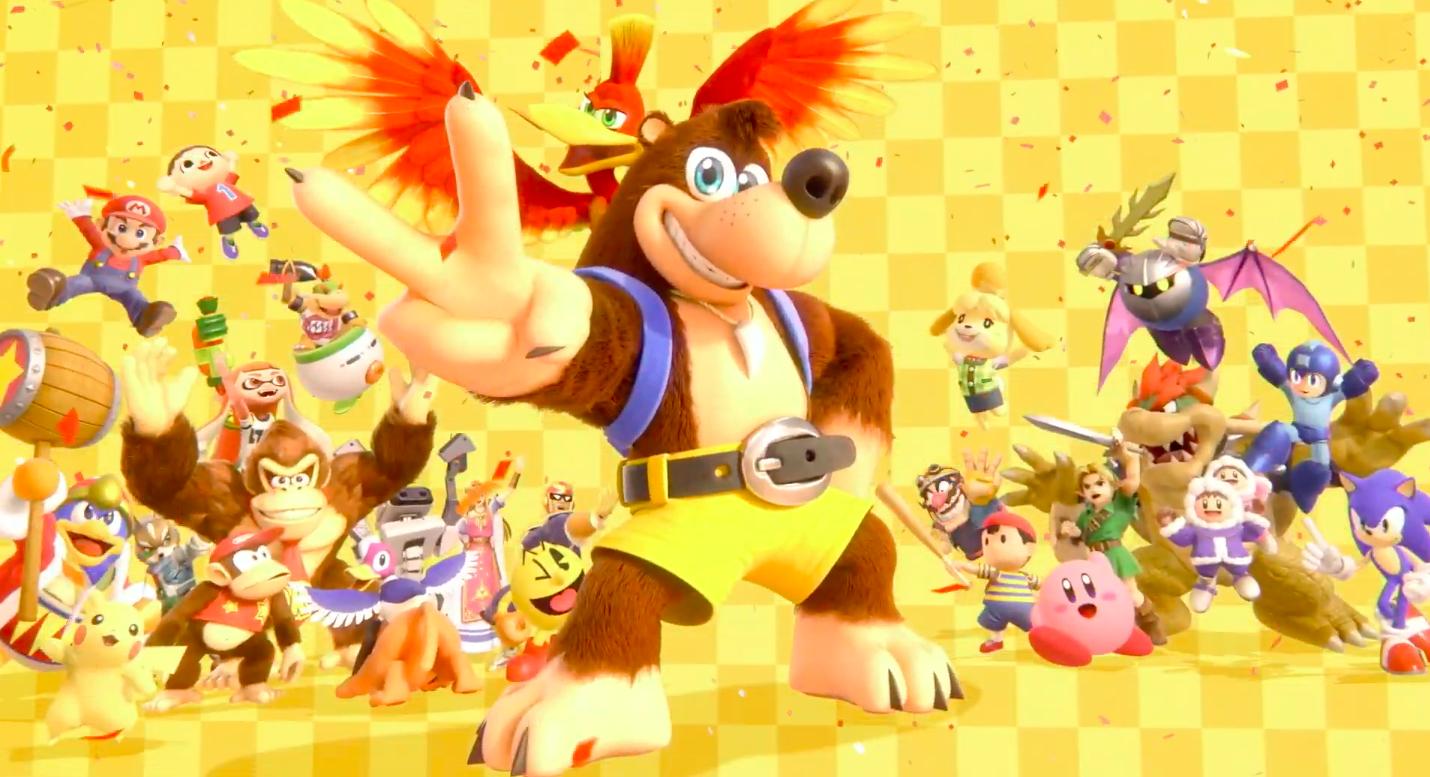 Banjo-Kazooie announced for Super Smash Bros. Ultimate