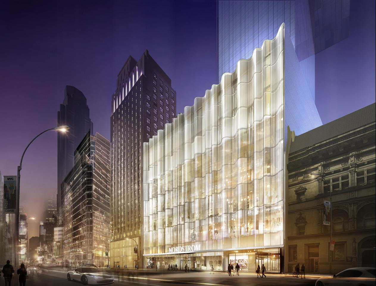 Nordstrom Midtown store (rendering)