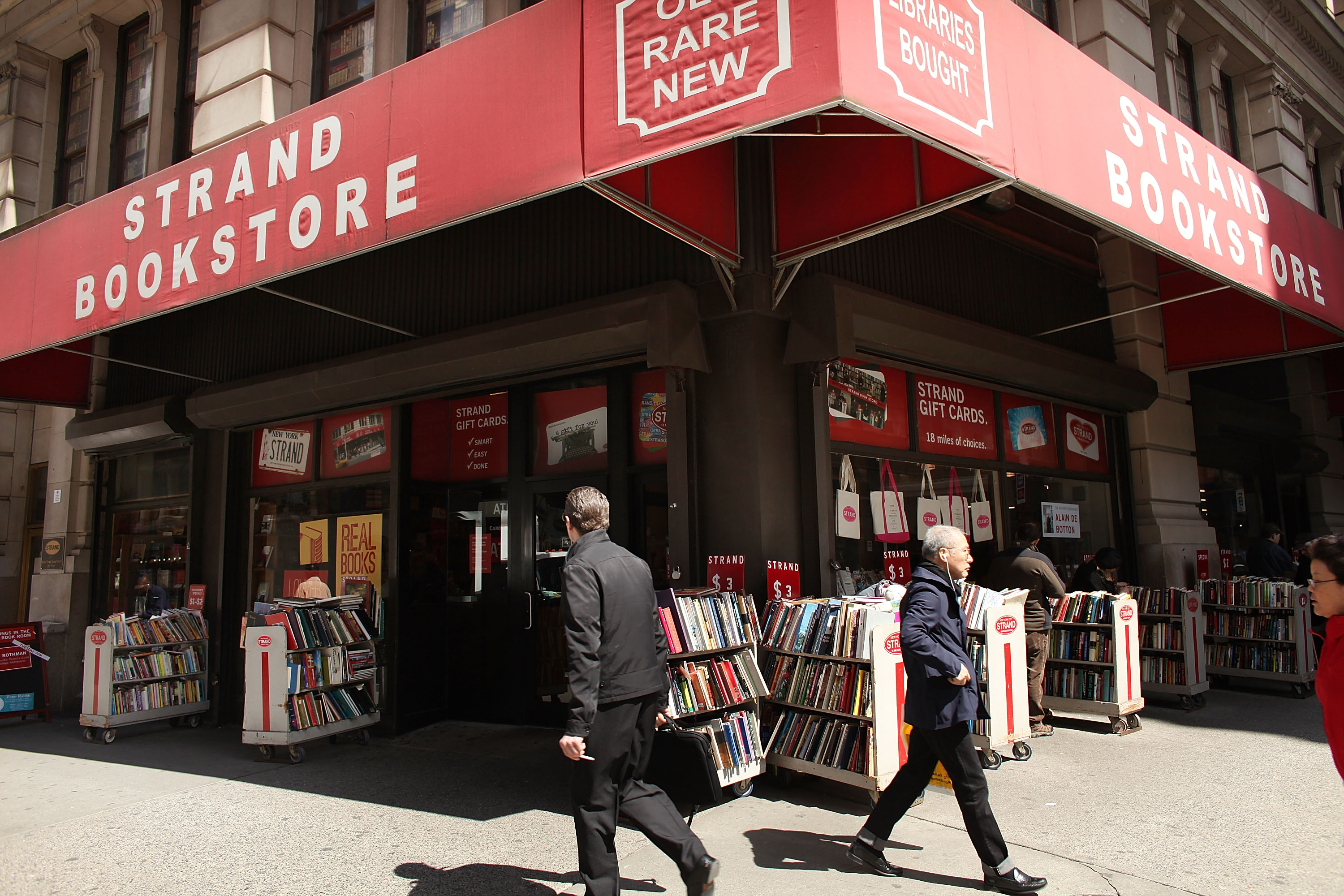Strand Bookstore, six other Broadway buildings are now NYC landmarks