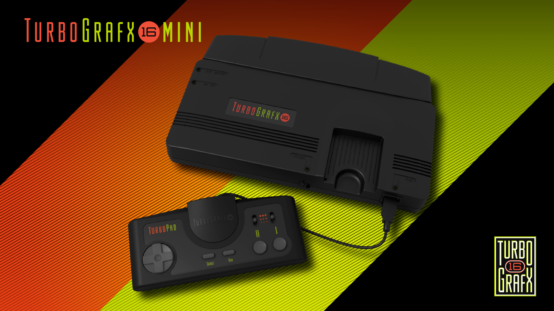 Konami announces the TurboGrafx-16 Mini retro console at E3 2019