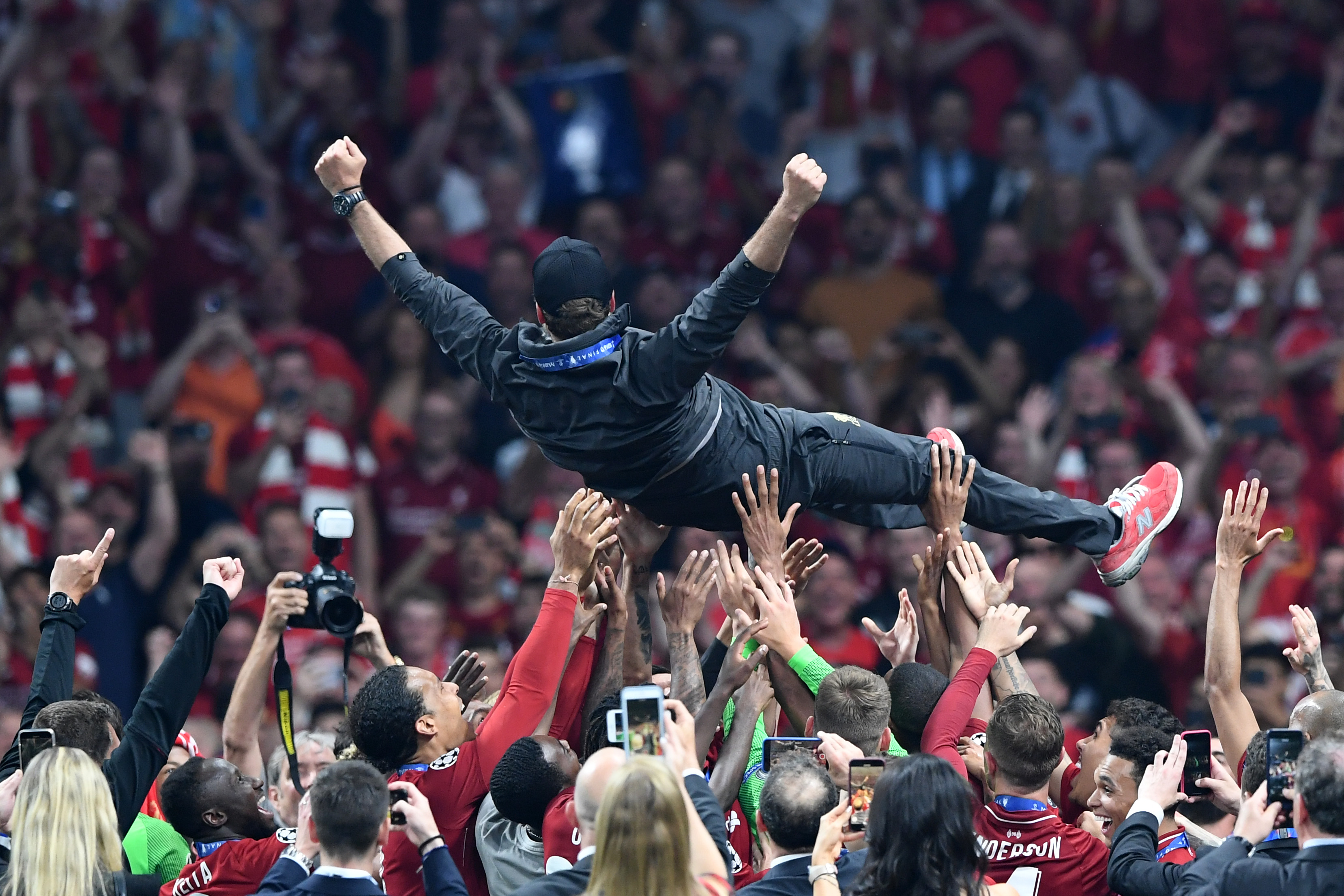 Watch: Jürgen Klopp's Post Champions League Final Celebrations