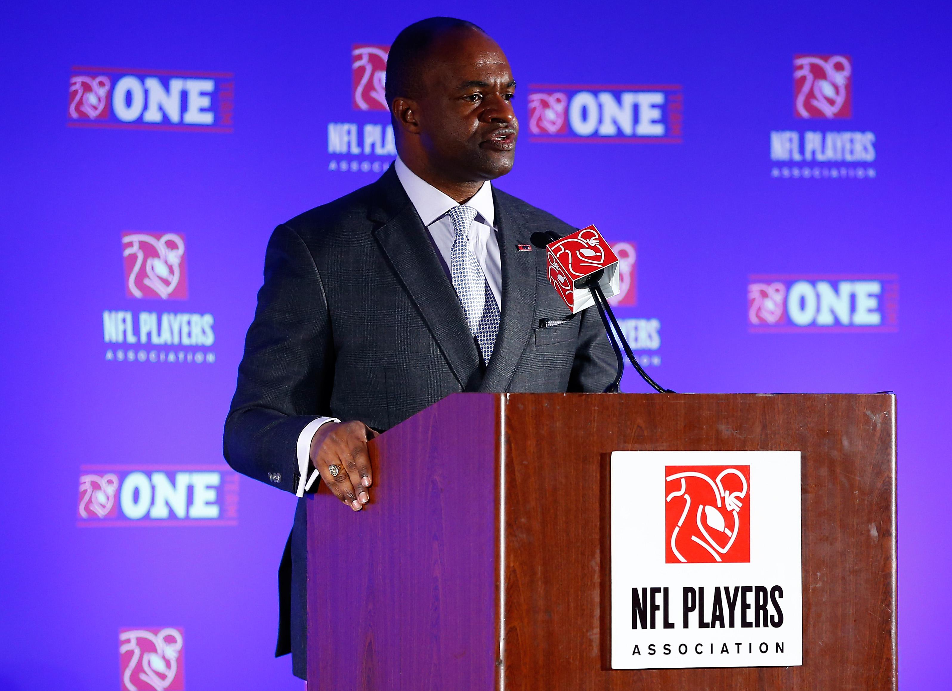Super Bowl XLVIII NFLPA Press Conference
