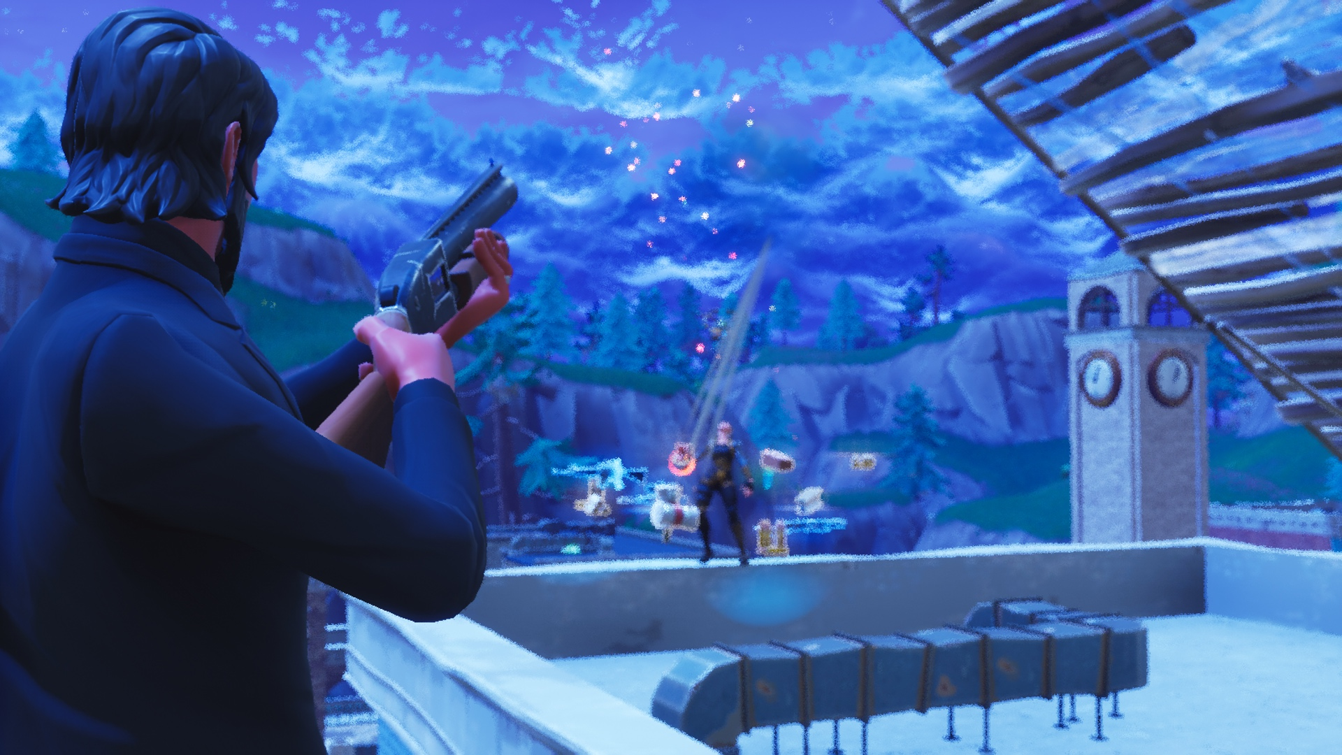 Epic acknowledges that shields and shotguns are necessary for Fortnite
