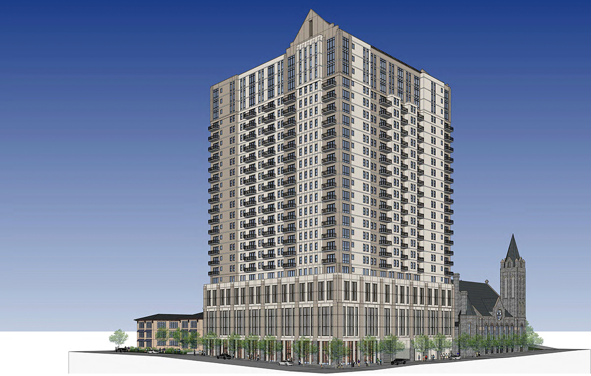 Midtown officials to Gothic-style tower developers: Do better