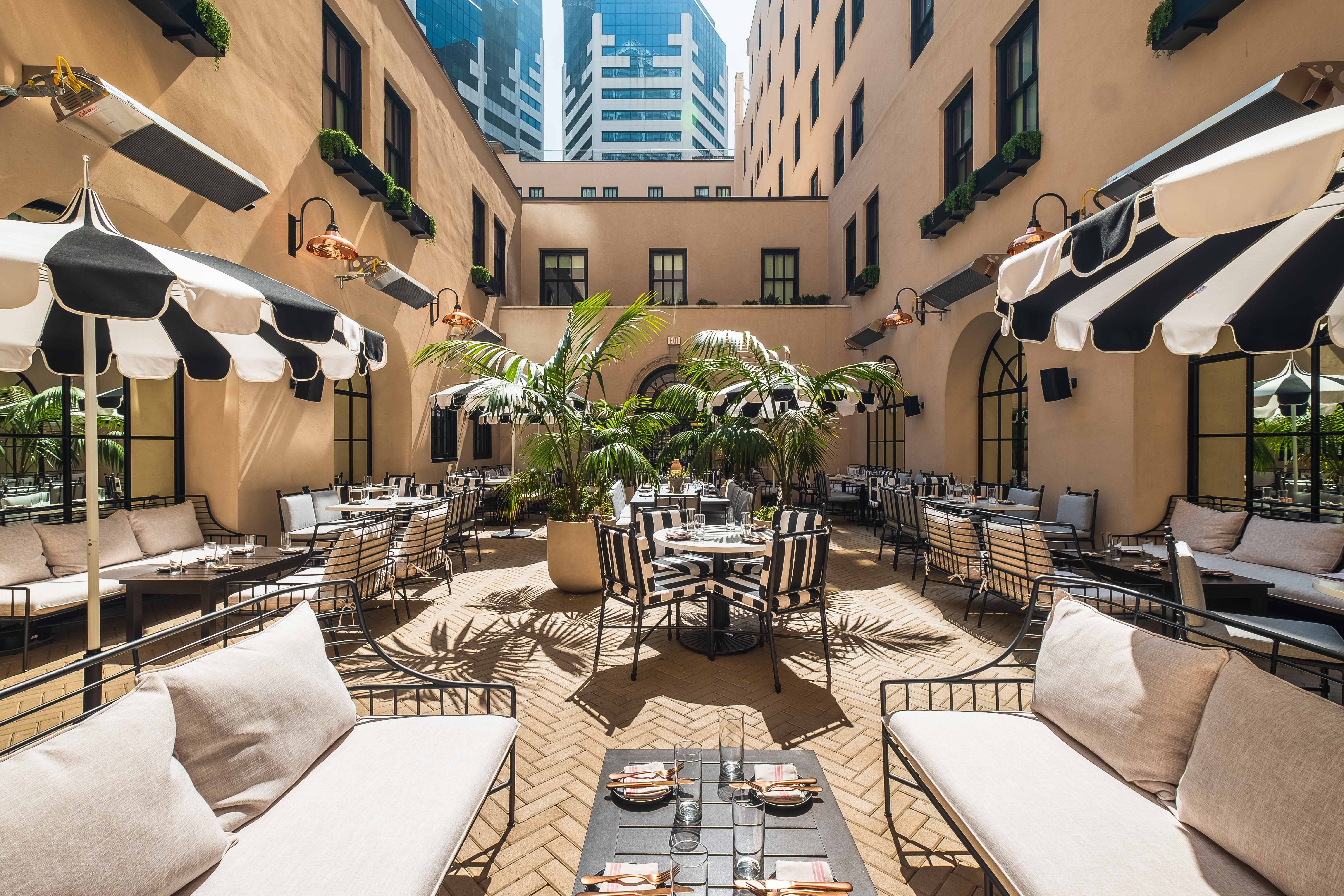 All-Patio Restaurant Rises Inside Downtown Boutique Hotel