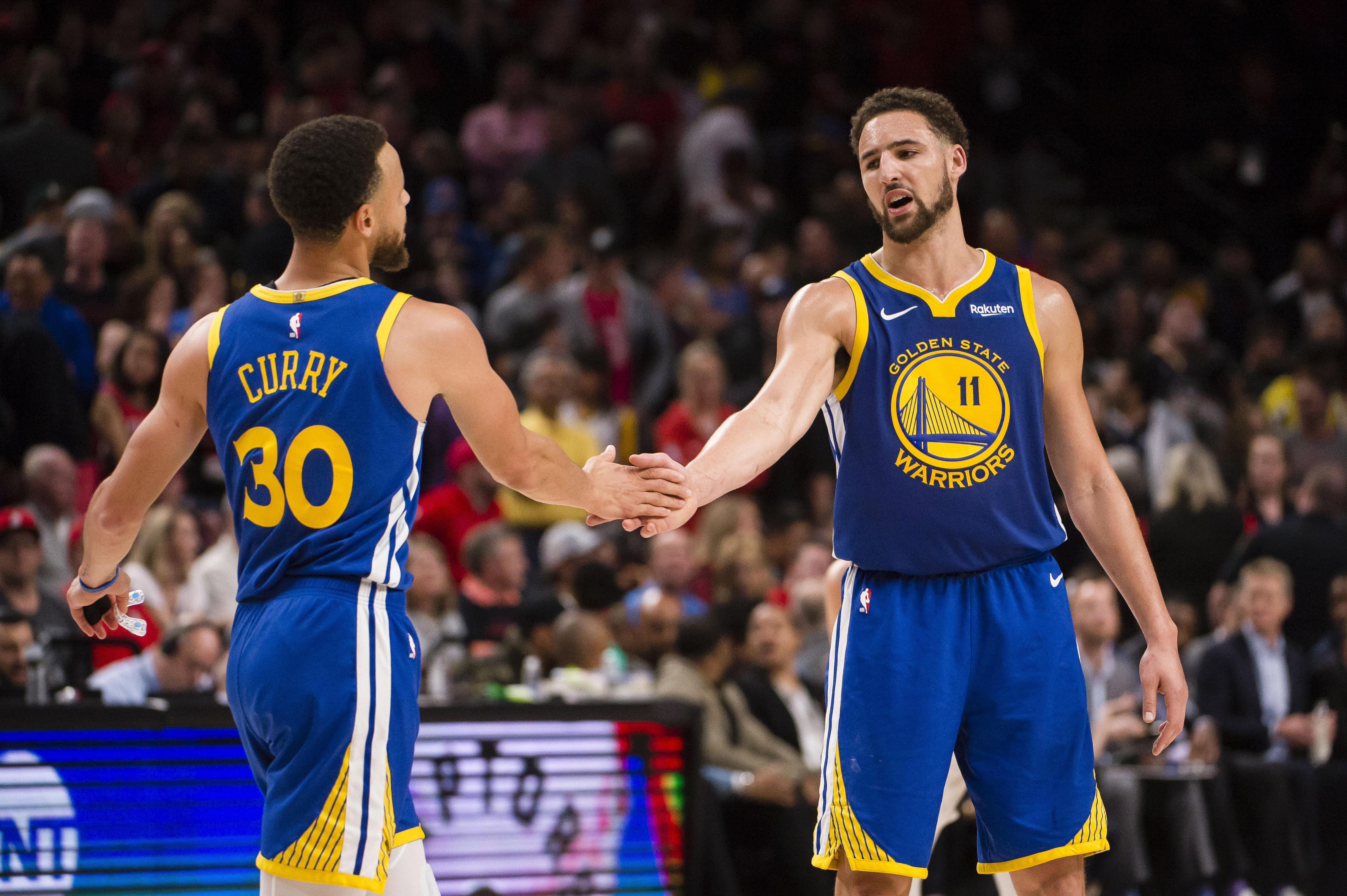 NBA: Playoffs-Golden State Warriors at Portland Trail Blazers