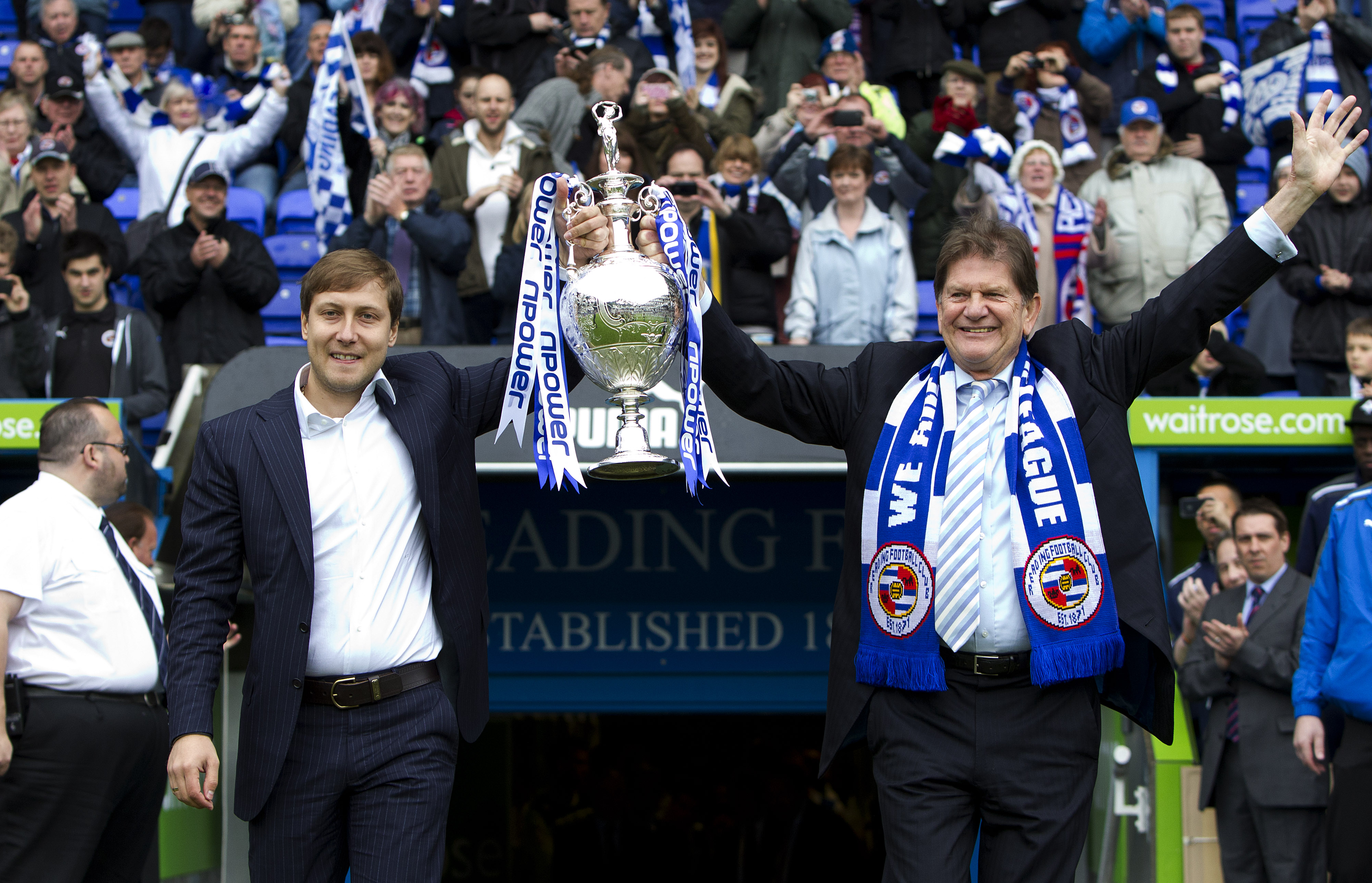 Reading Football Club Championship Trophy Victory Parade
