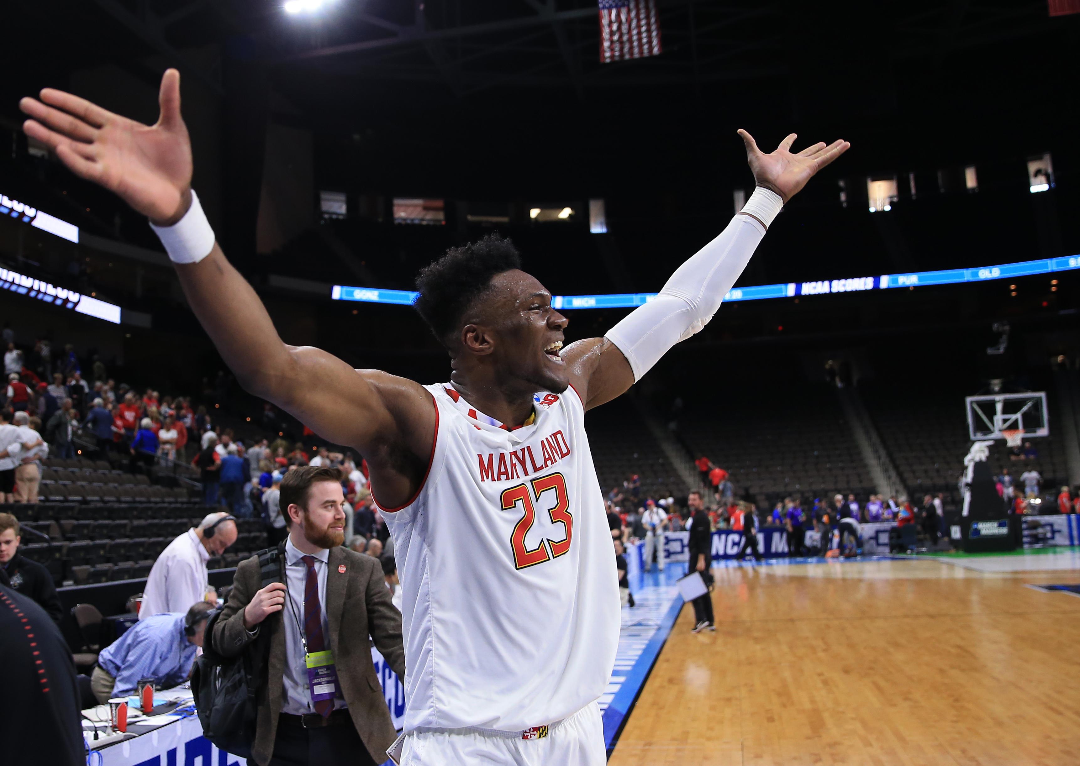 NCAA Basketball: NCAA Tournament-First Round-Maryland vs Belmont