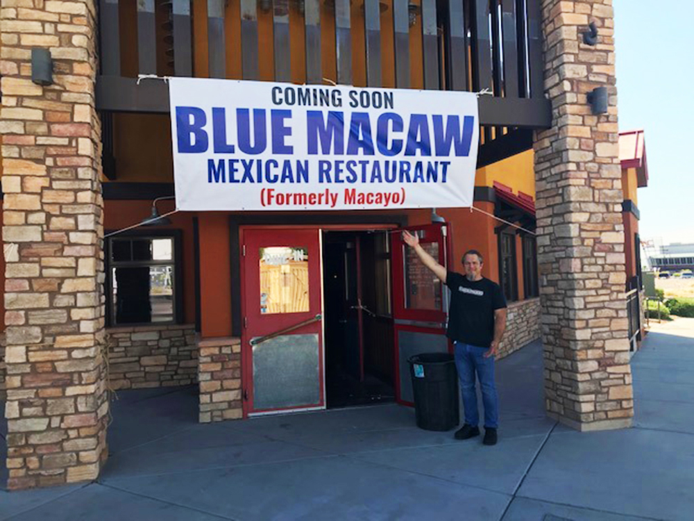 Blue Macaw Mexican Restaurant