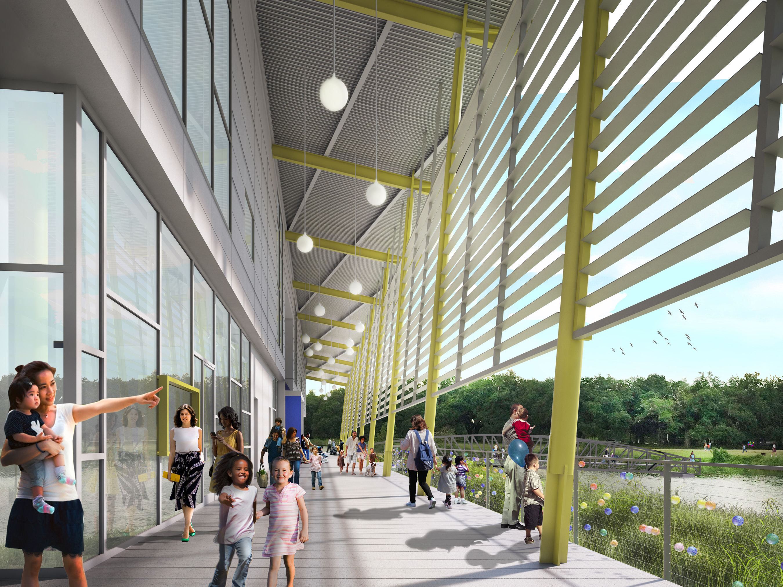 Louisiana Children's Museum announces the opening date of its new City Park campus