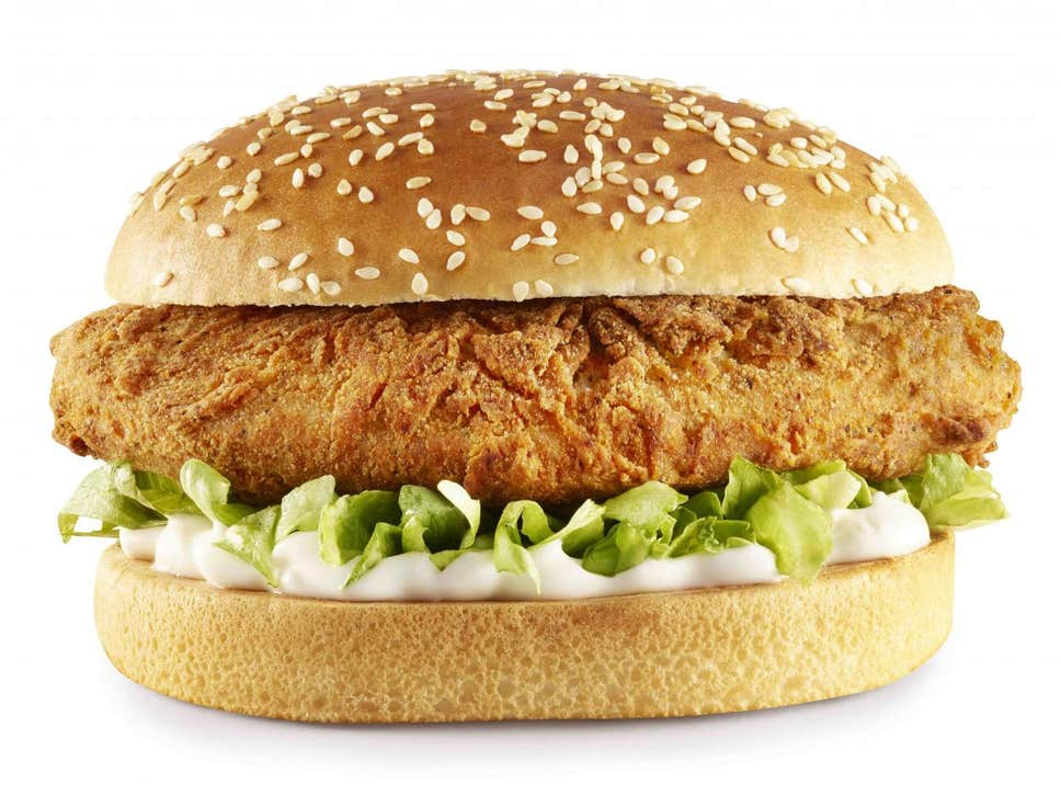 KFC's vegan chicken burger is made with quorn and launches in the UK this week