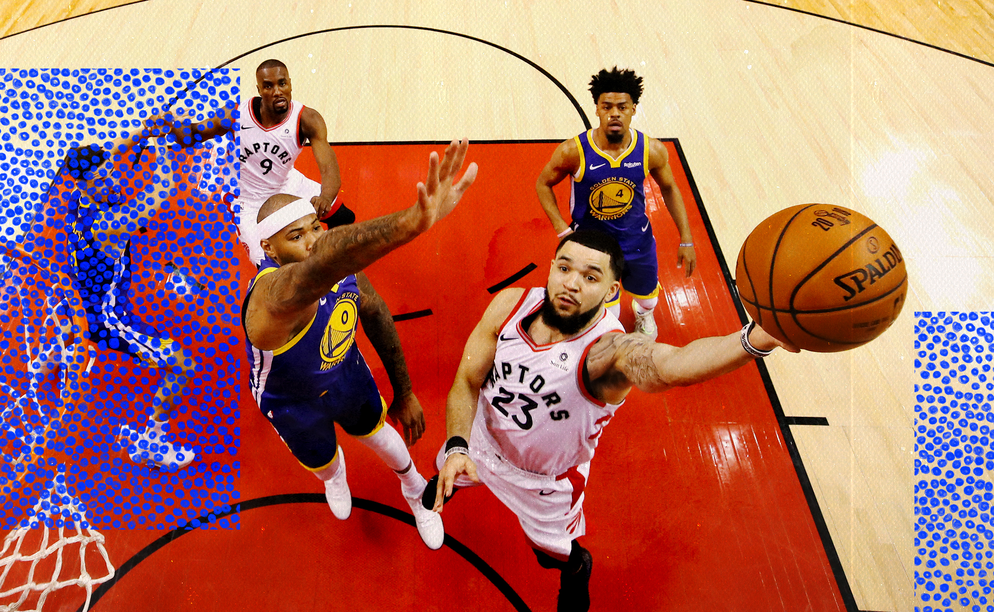 Fred VanVleet is the shot clock king