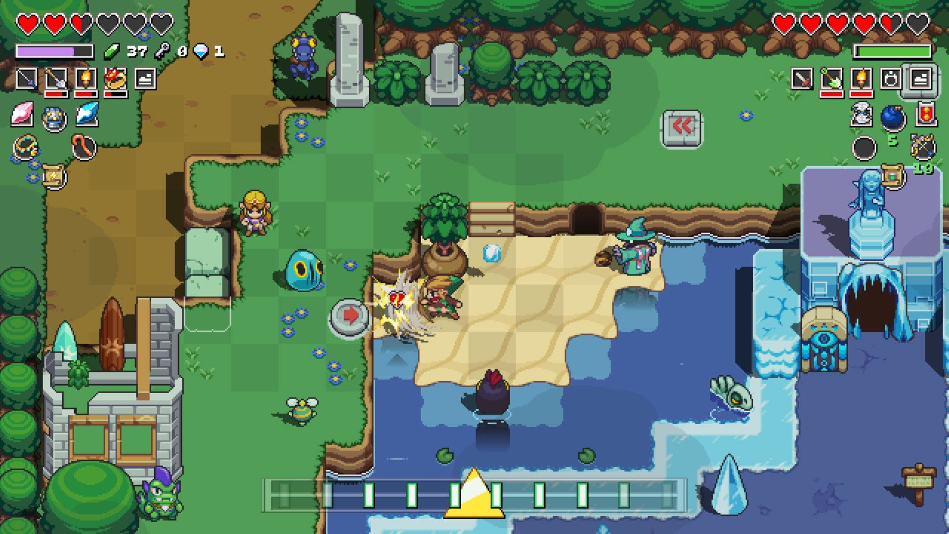 Cadence of Hyrule is the best Zelda spin-off ever made