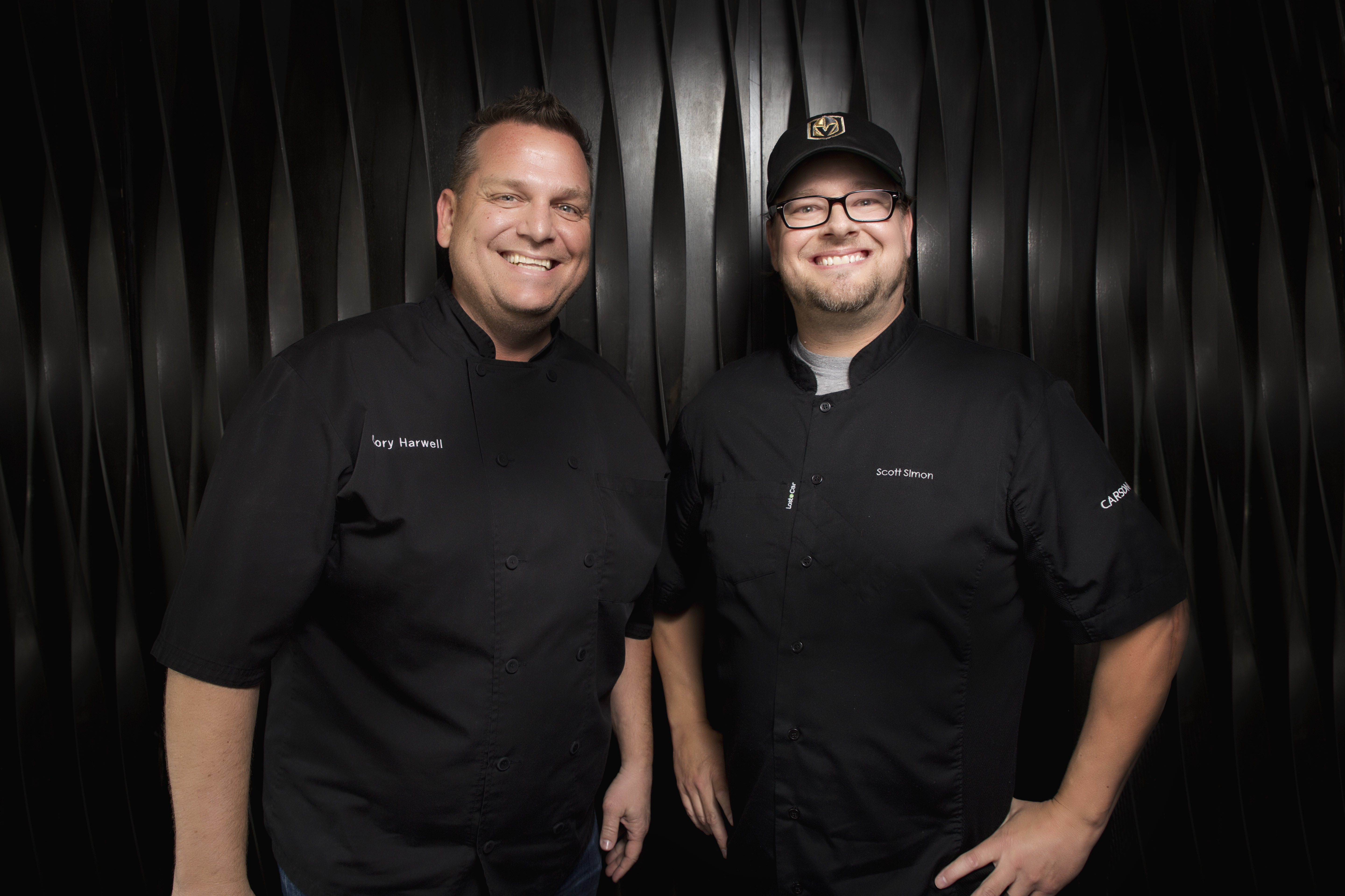Cory Harwell, left, and Scott Simon lead the charge at Carson Kitchen