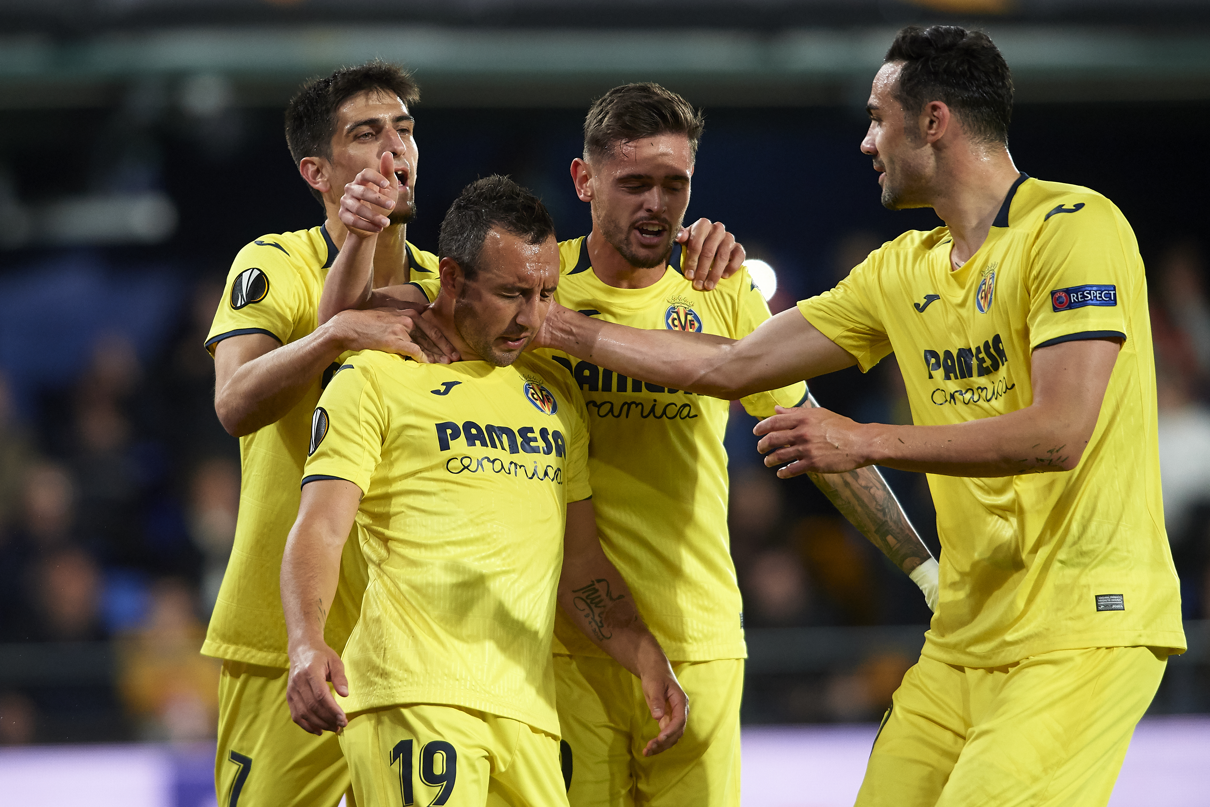 Villarreal v Valencia - UEFA Europa League Quarter Final : First Leg