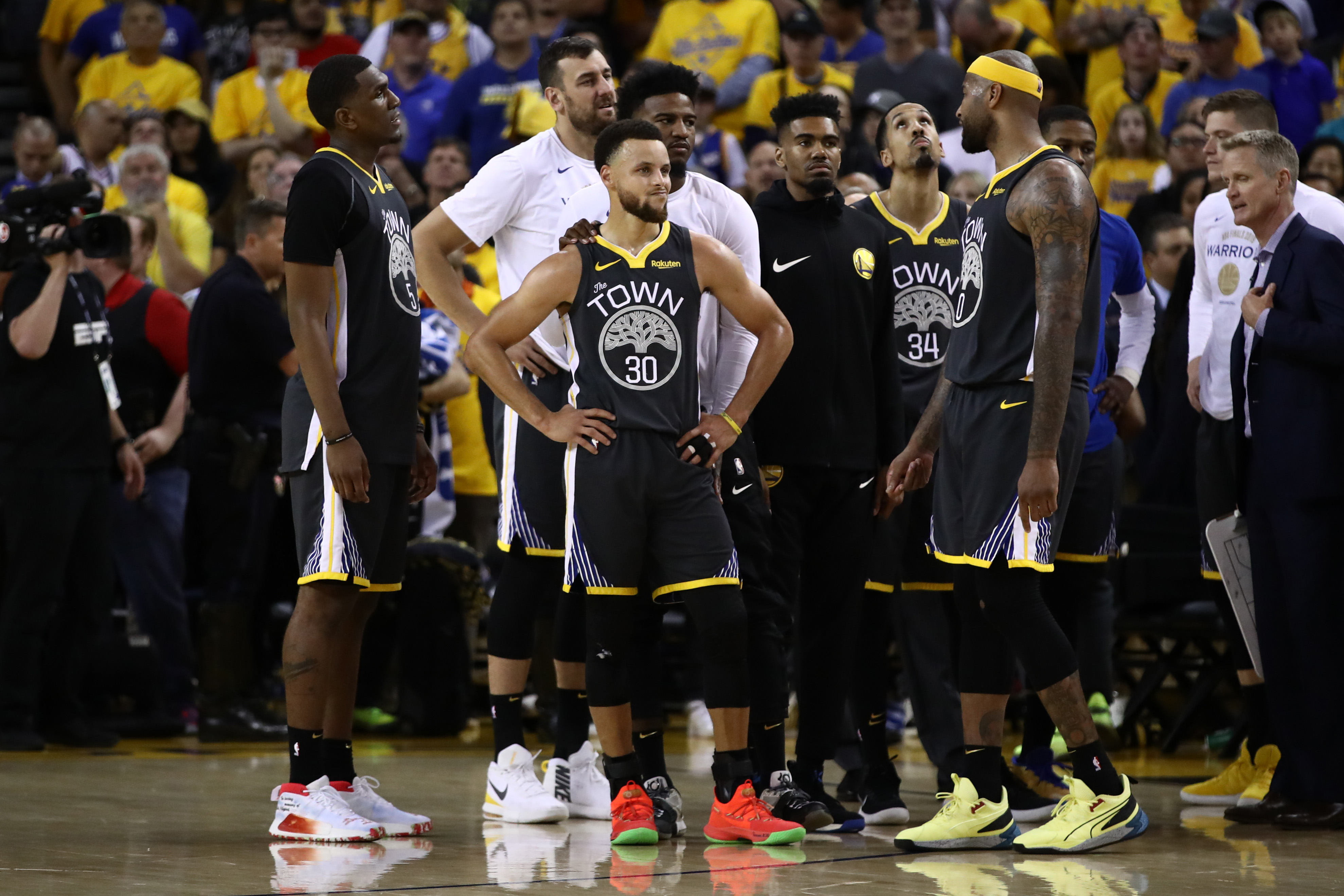 The Warriors' last attempt to save their season ended in a total mess