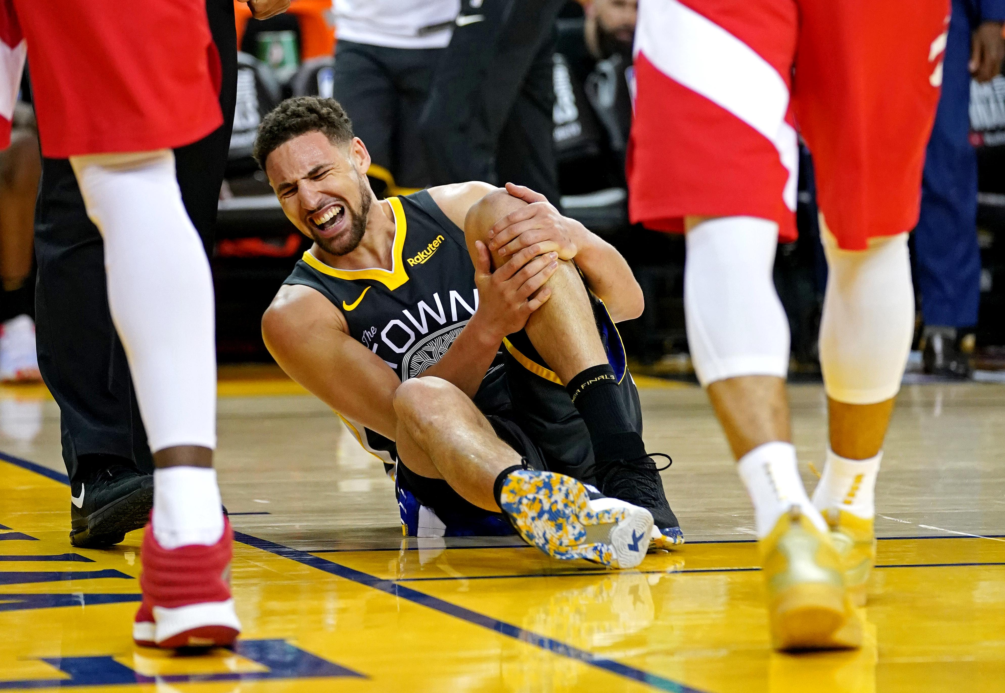 The 9 injuries that doomed the Warriors' attempt to three-peat