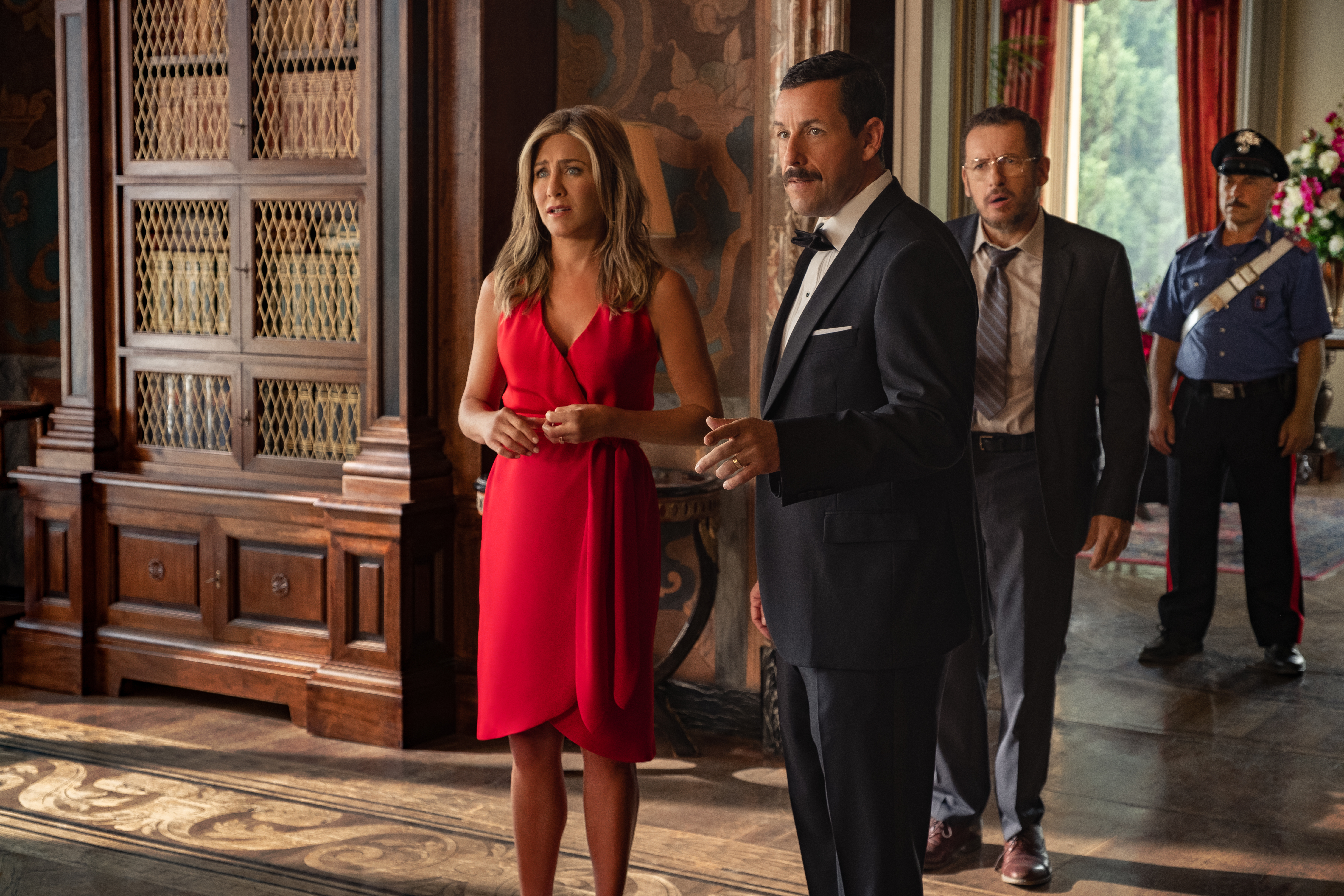Netflix's Murder Mystery is a surprisingly fun romp starring Adam Sandler and Jennifer Aniston