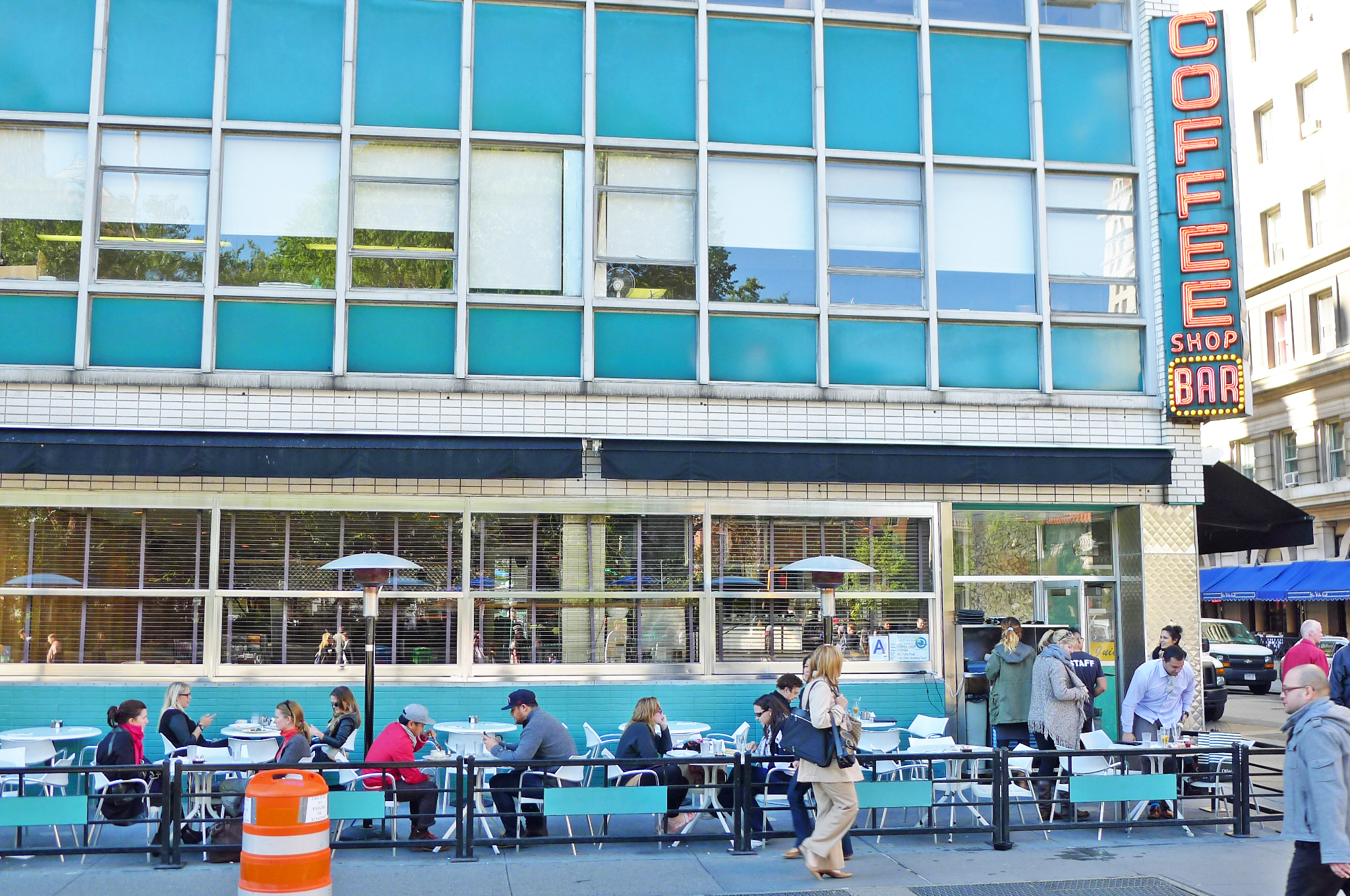 Coffee Shop's Famed Union Square Space Will Indeed House a Chase Bank