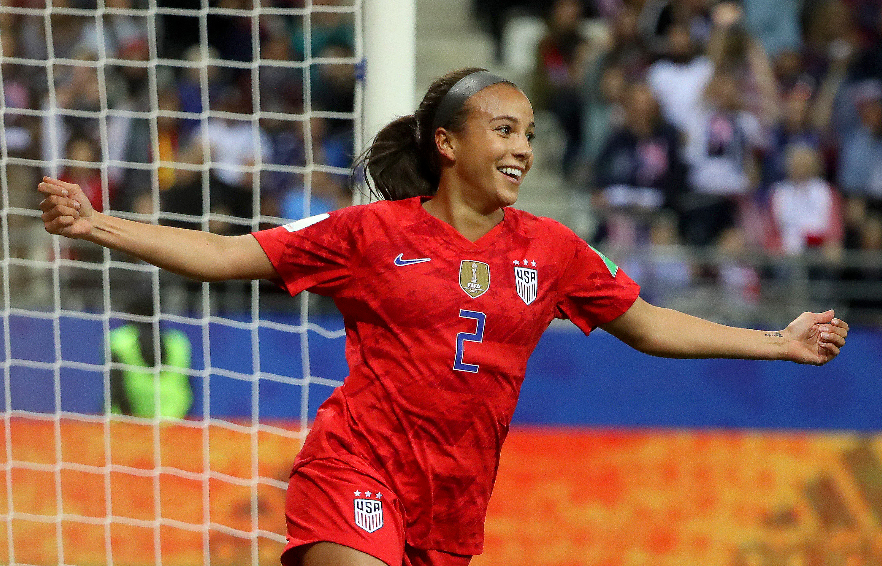 9b3493f49 World Cup 2019: The US women's national team and soccer girl ...
